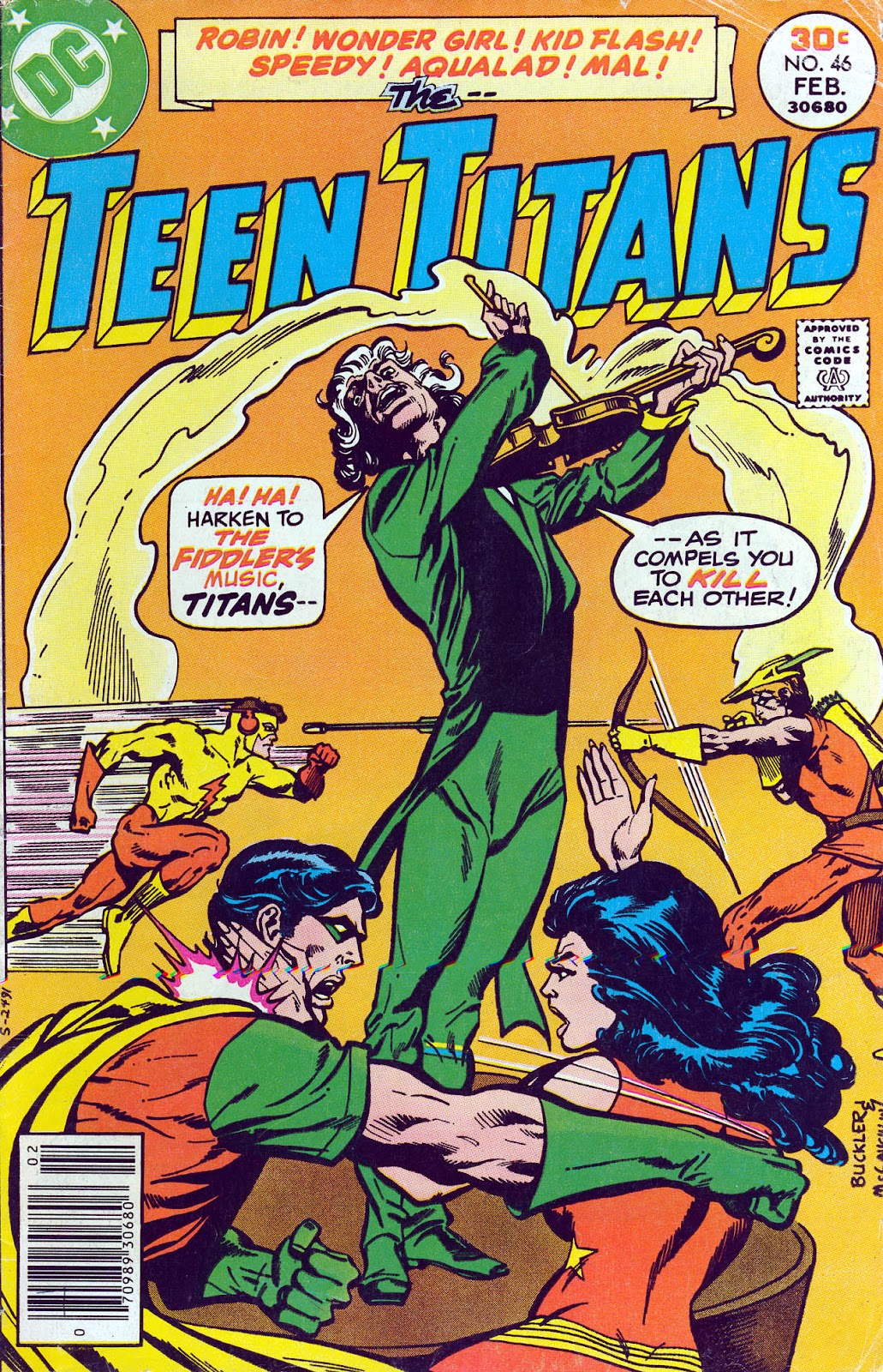 Teen Titans (1966) issue 46 - Page 1