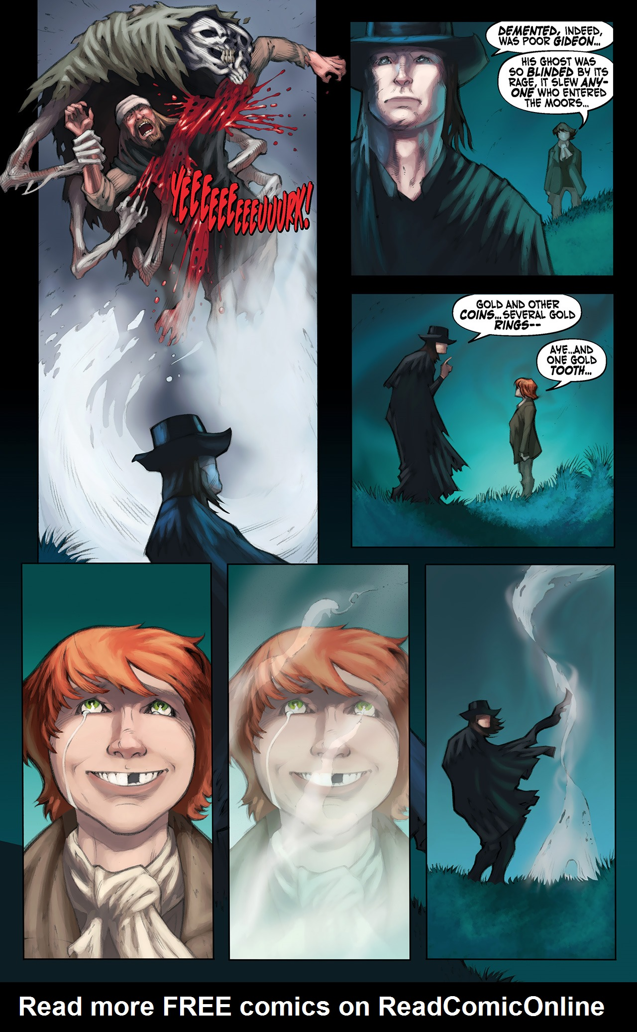 Read online Solomon Kane: Red Shadows comic -  Issue #1 - 24