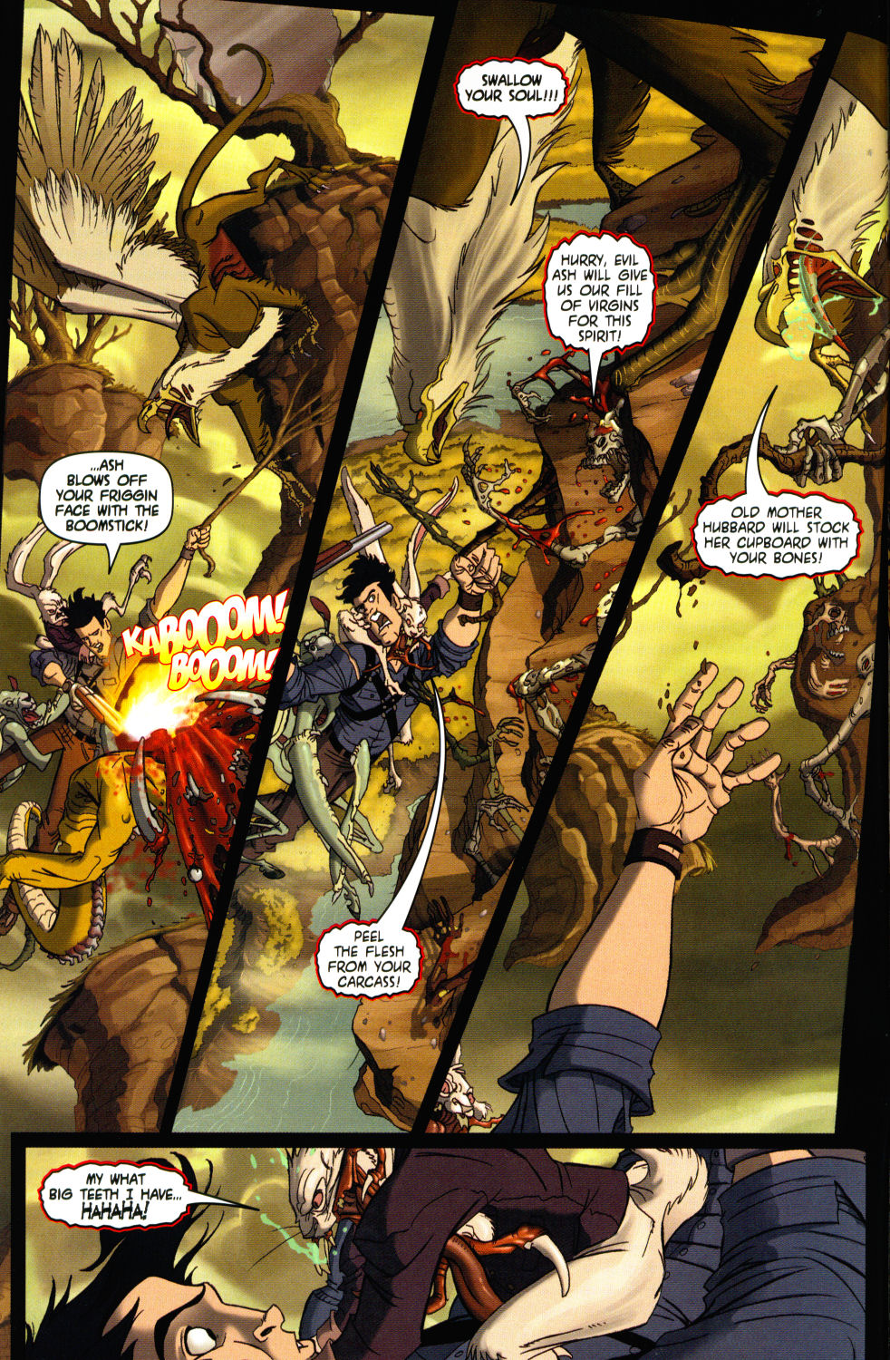Read online Army of Darkness vs. Re-Animator comic -  Issue #3 - 6