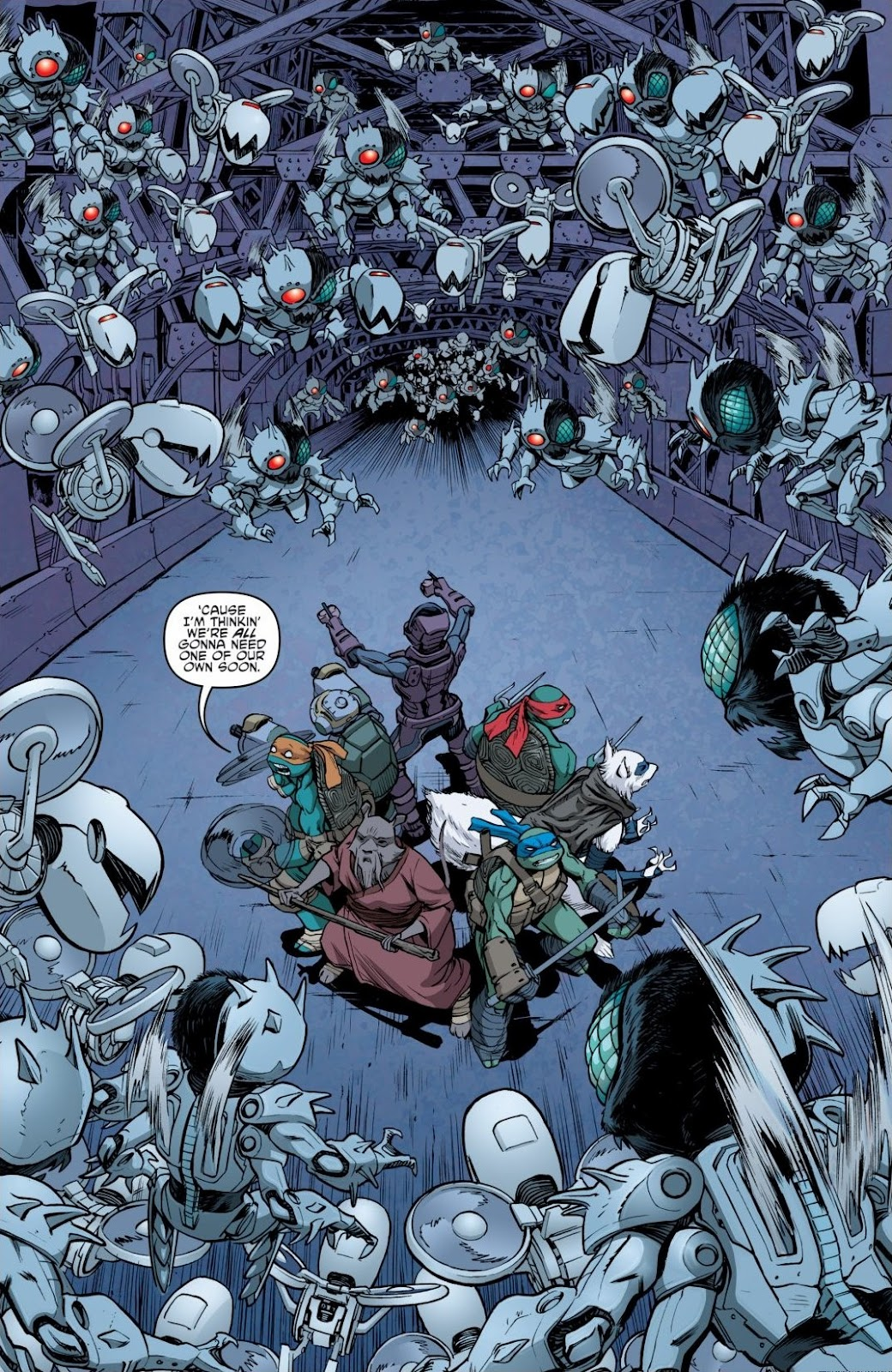 Read online Teenage Mutant Ninja Turtles: The IDW Collection comic -  Issue # TPB 6 (Part 3) - 13