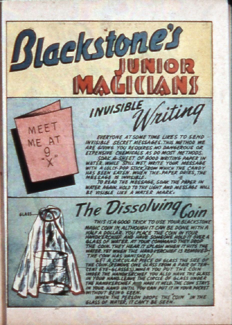 Read online Super-Magician Comics comic -  Issue #3 - 40