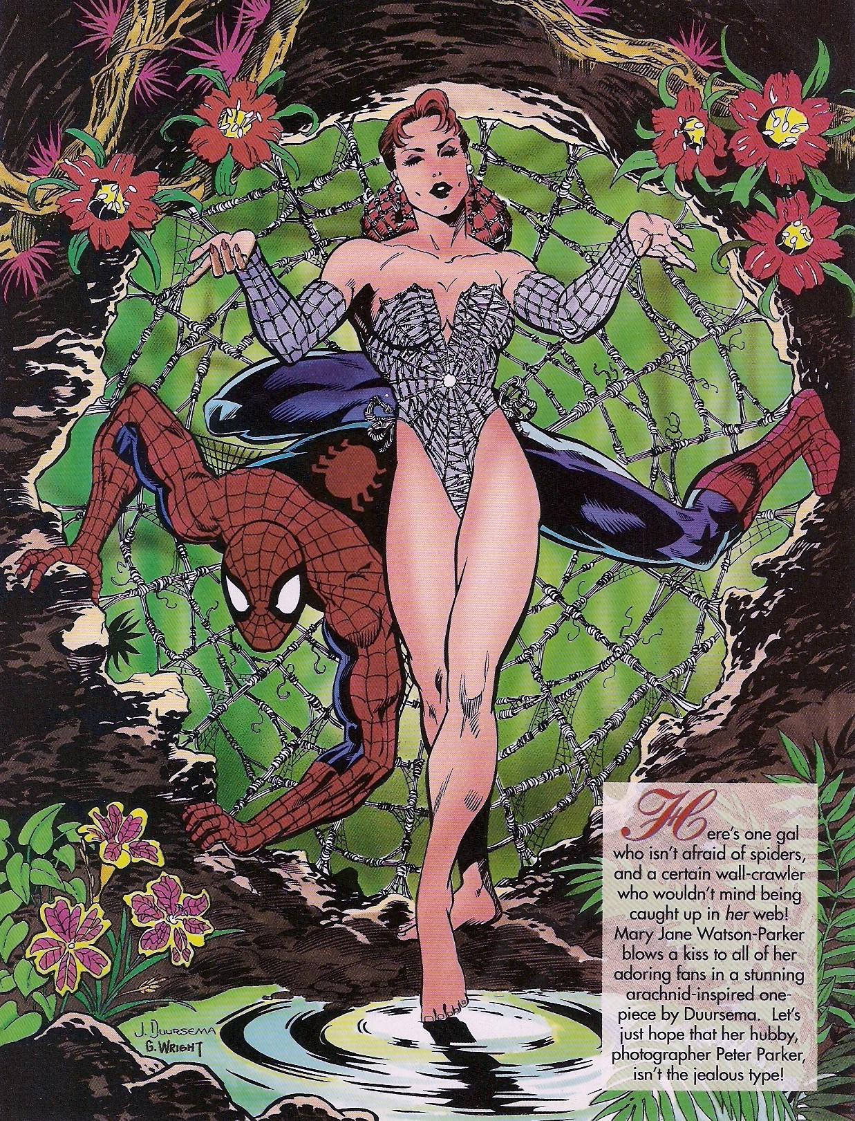 Read online Marvel Swimsuit Special comic -  Issue #1 - 10