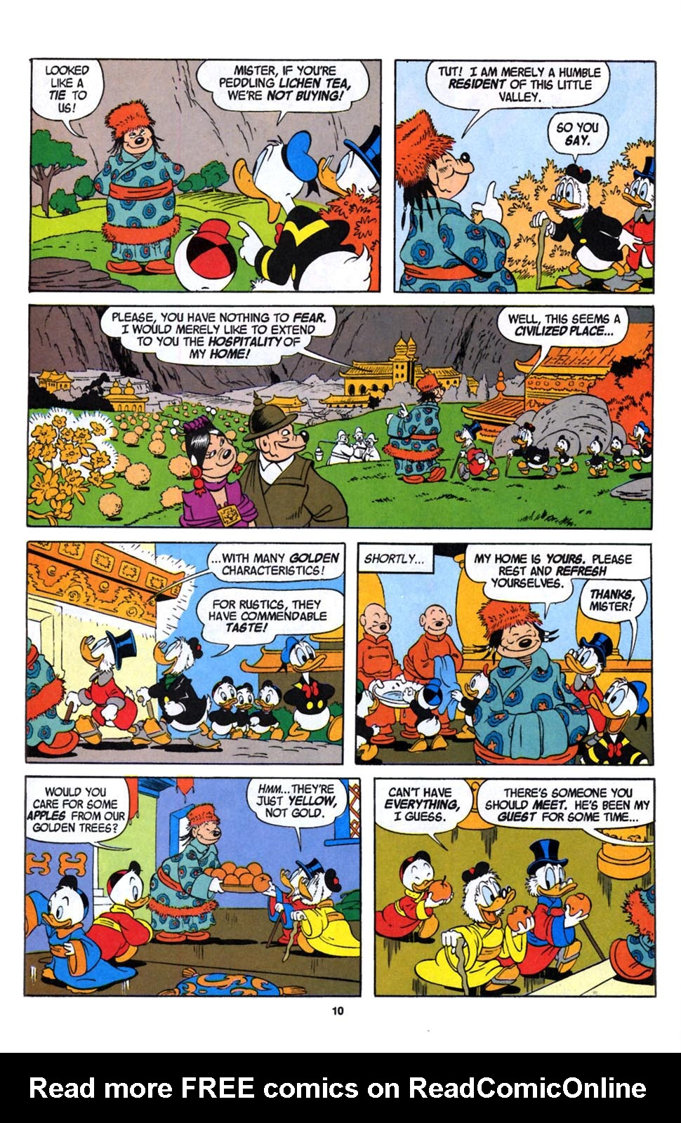 Read online Uncle Scrooge (1953) comic -  Issue #246 - 12