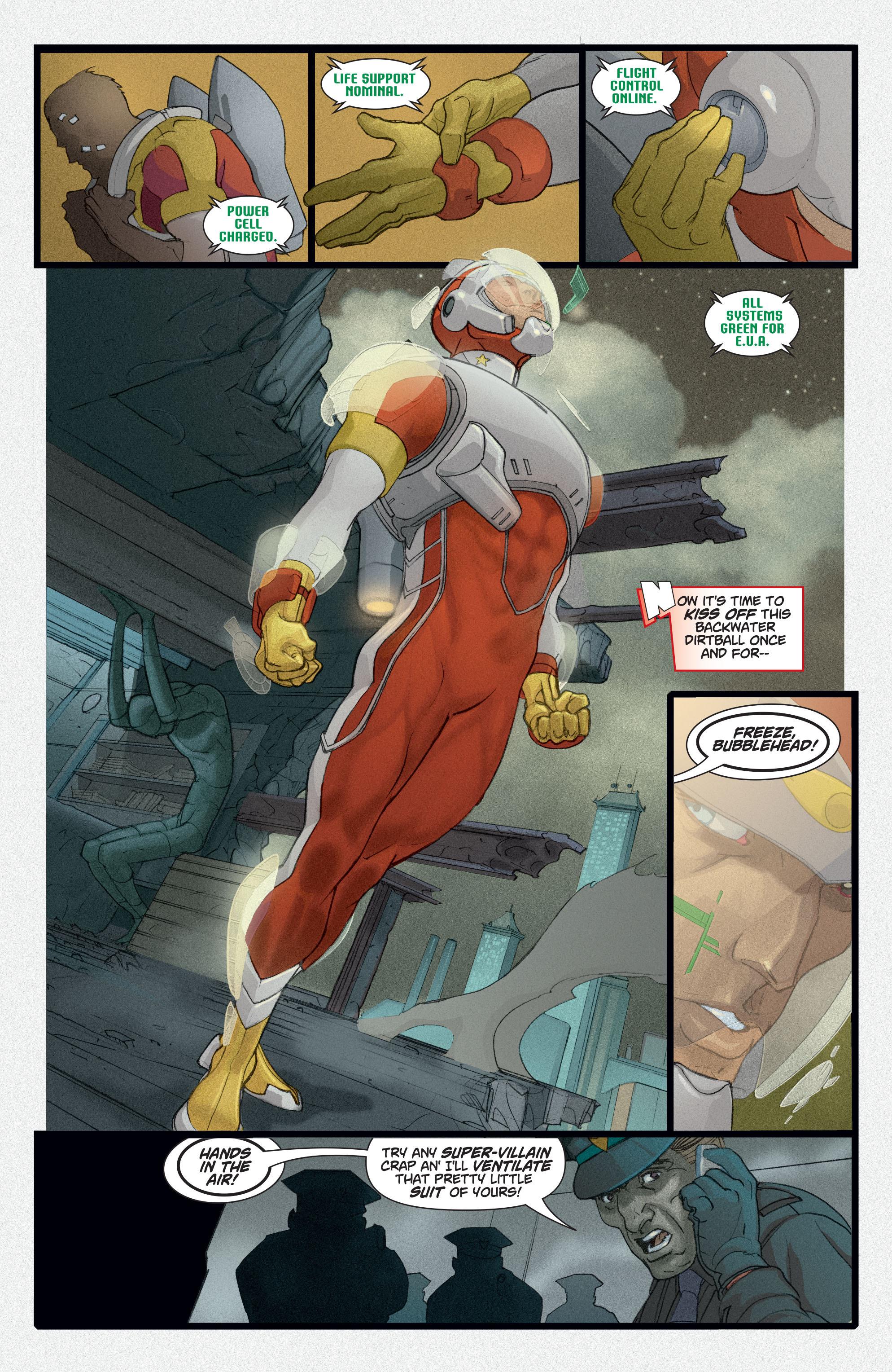Read online Adam Strange (2004) comic -  Issue #2 - 16