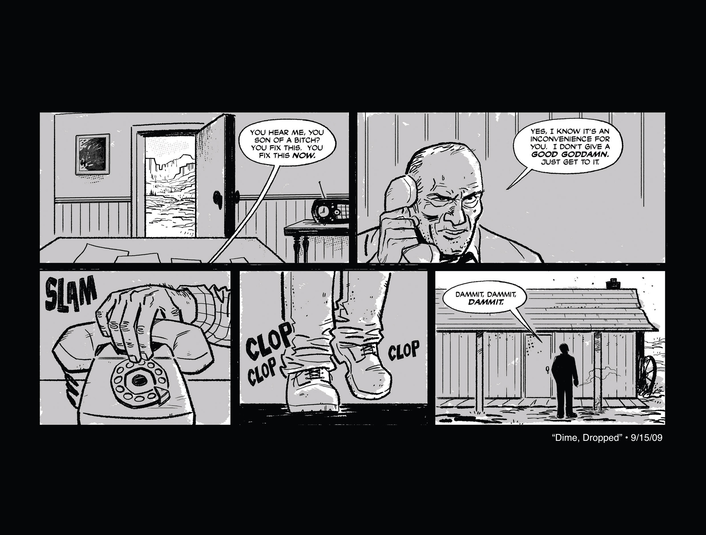 Read online She Died In Terrebonne comic -  Issue #1 - 7
