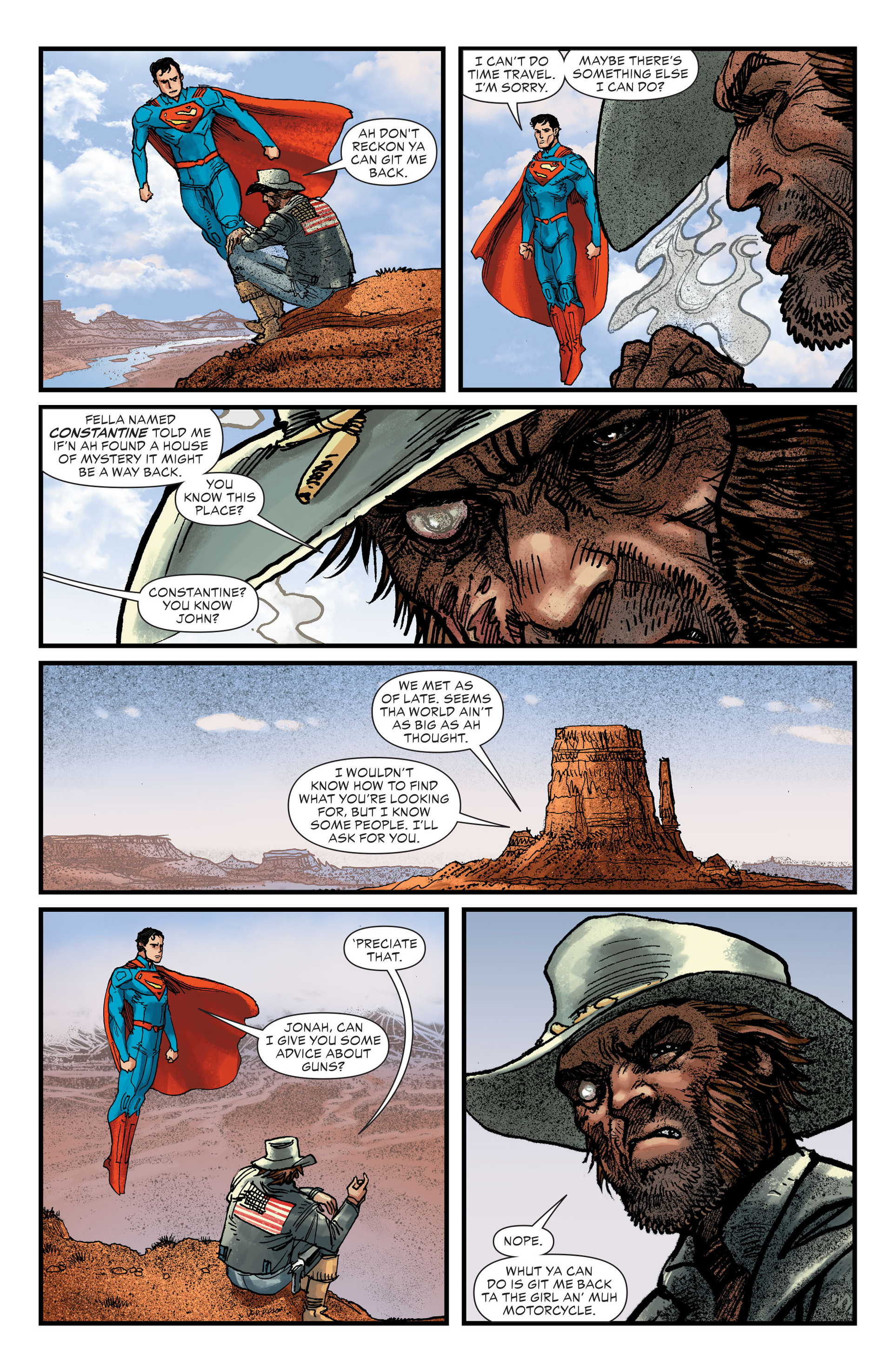 Read online All-Star Western (2011) comic -  Issue #27 - 8