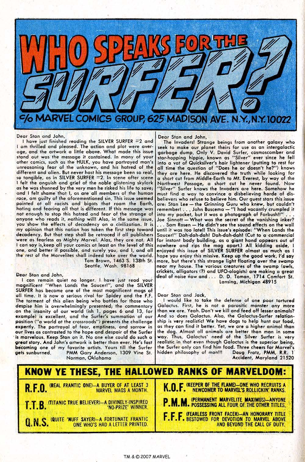 Read online Silver Surfer (1968) comic -  Issue #4 - 64
