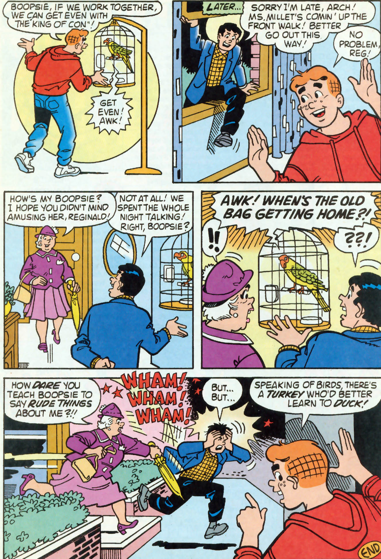 Read online Archie (1960) comic -  Issue #460 - 12
