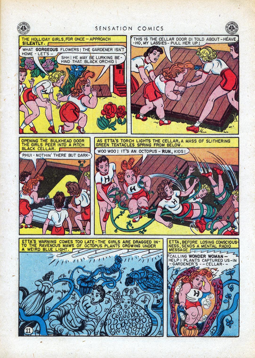 Read online Sensation (Mystery) Comics comic -  Issue #41 - 13