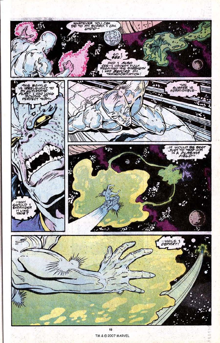 Read online Silver Surfer (1987) comic -  Issue # _Annual 2 - 21