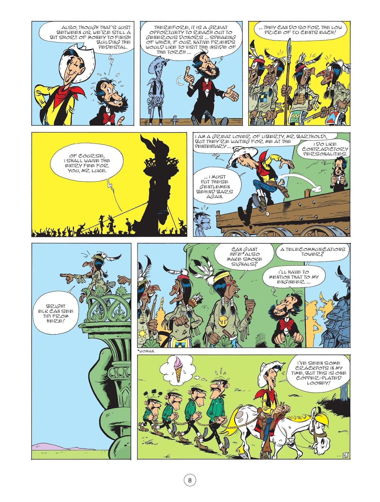 A Lucky Luke Adventure issue 71 - Page 10