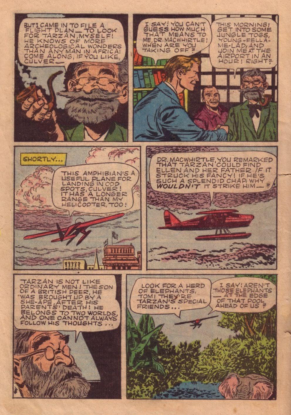 Tarzan (1948) issue 40 - Page 4