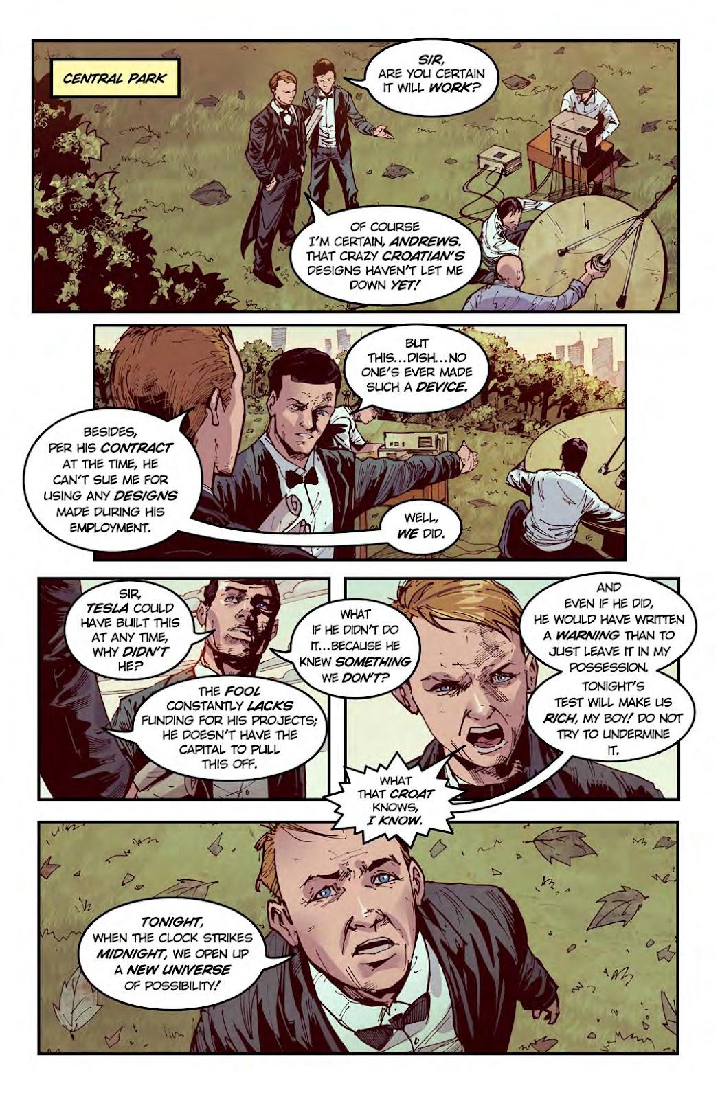 Read online American Dreams comic -  Issue #1 - 11