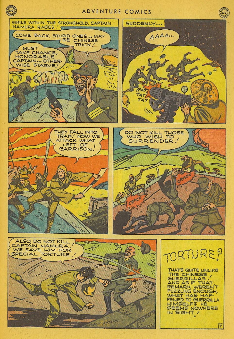 Read online Adventure Comics (1938) comic -  Issue #102 - 39