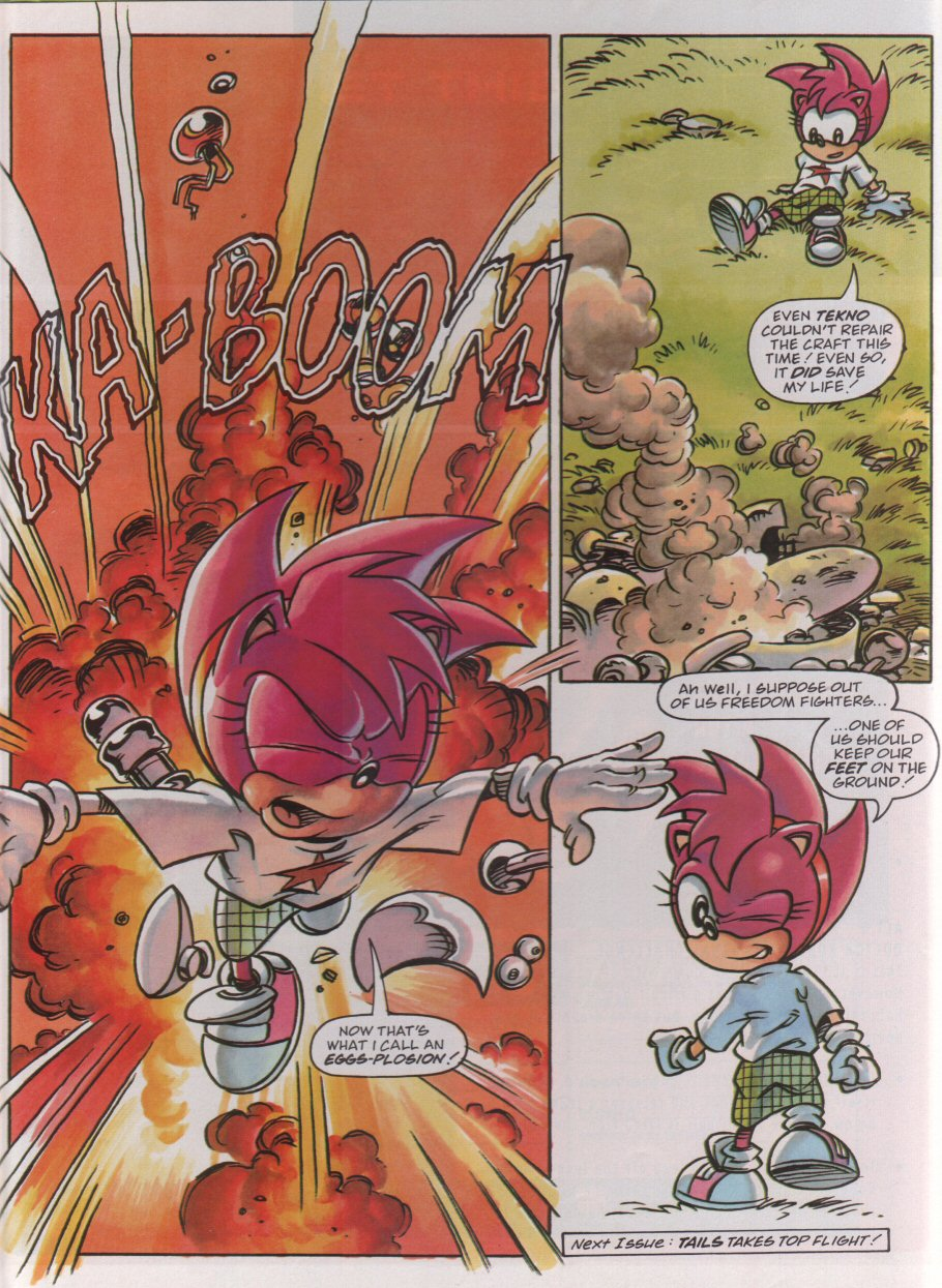 Read online Sonic the Comic comic -  Issue #95 - 20
