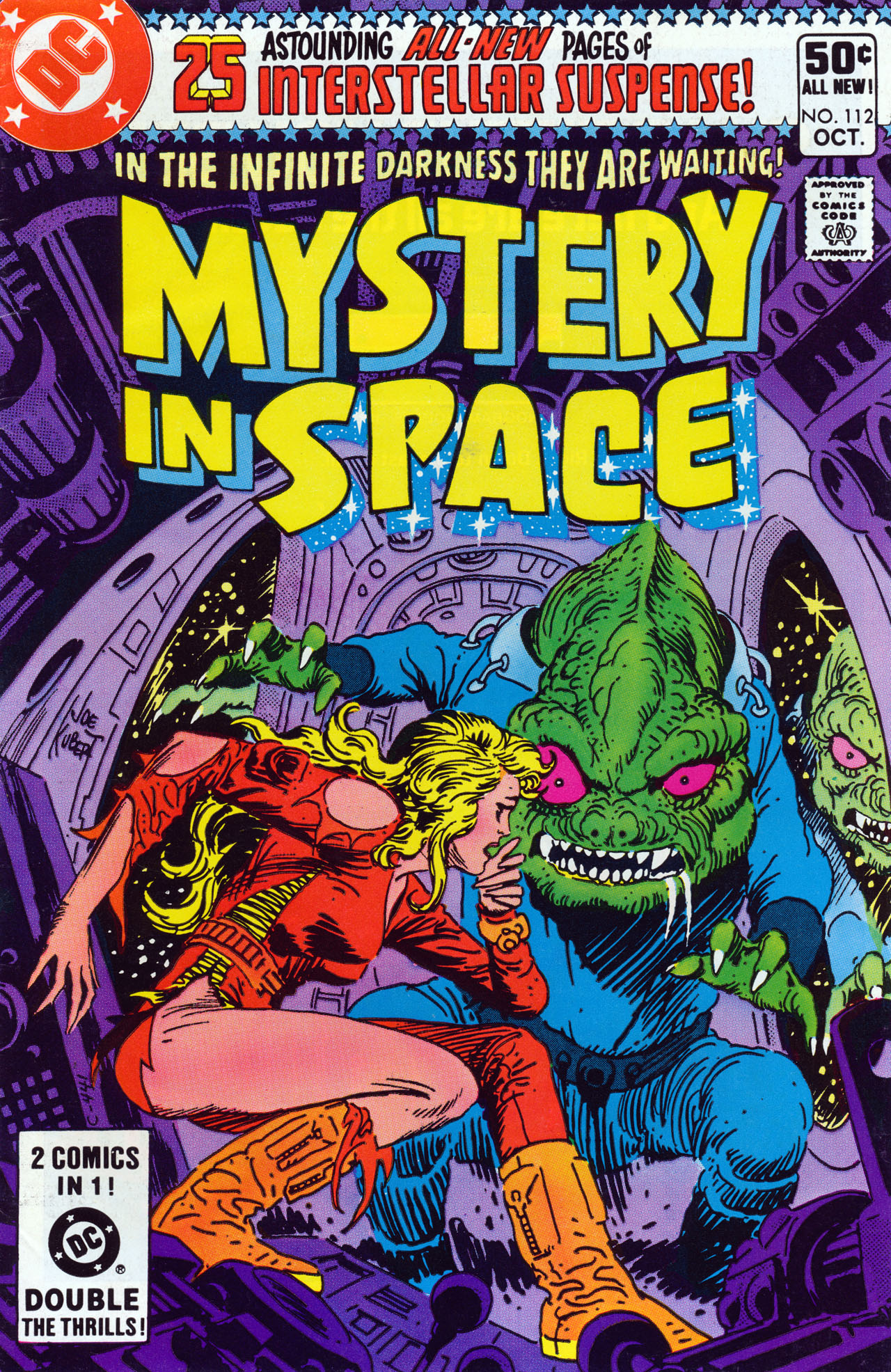 Mystery in Space (1951) issue 112 - Page 1