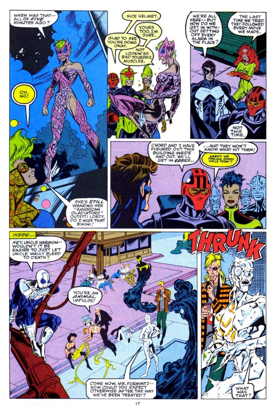 The New Warriors Issue #15 #19 - English 15