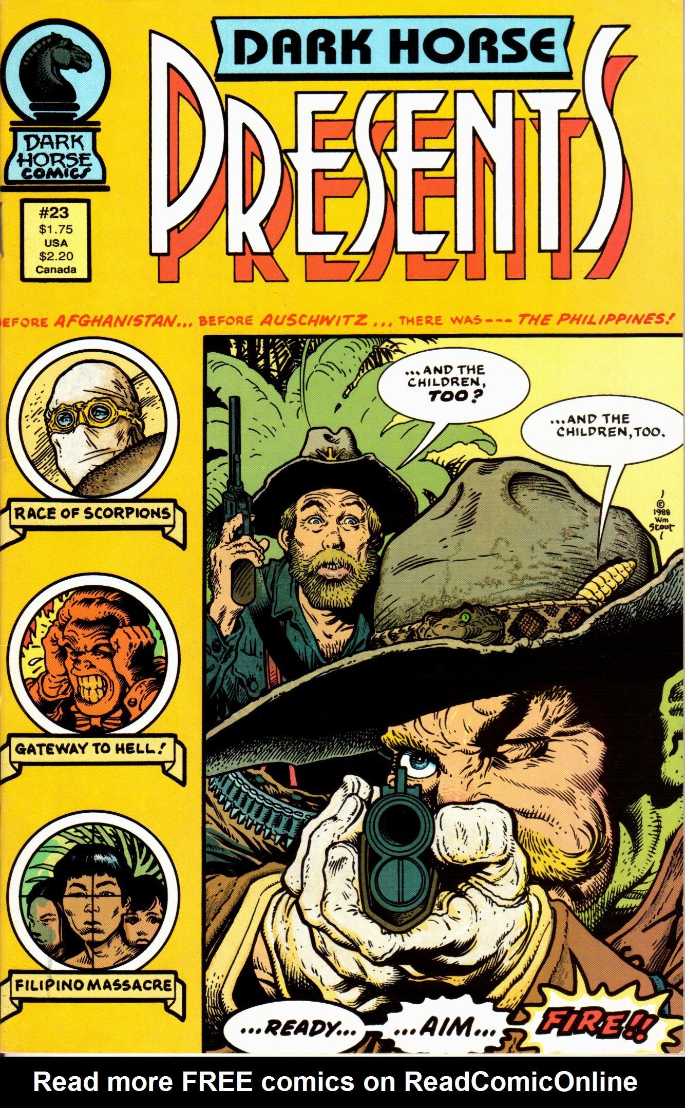 Dark Horse Presents (1986) 23 Page 1