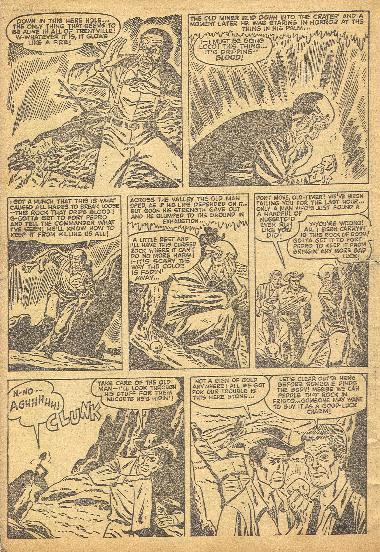 Read online Adventures into Weird Worlds comic -  Issue #8 - 3