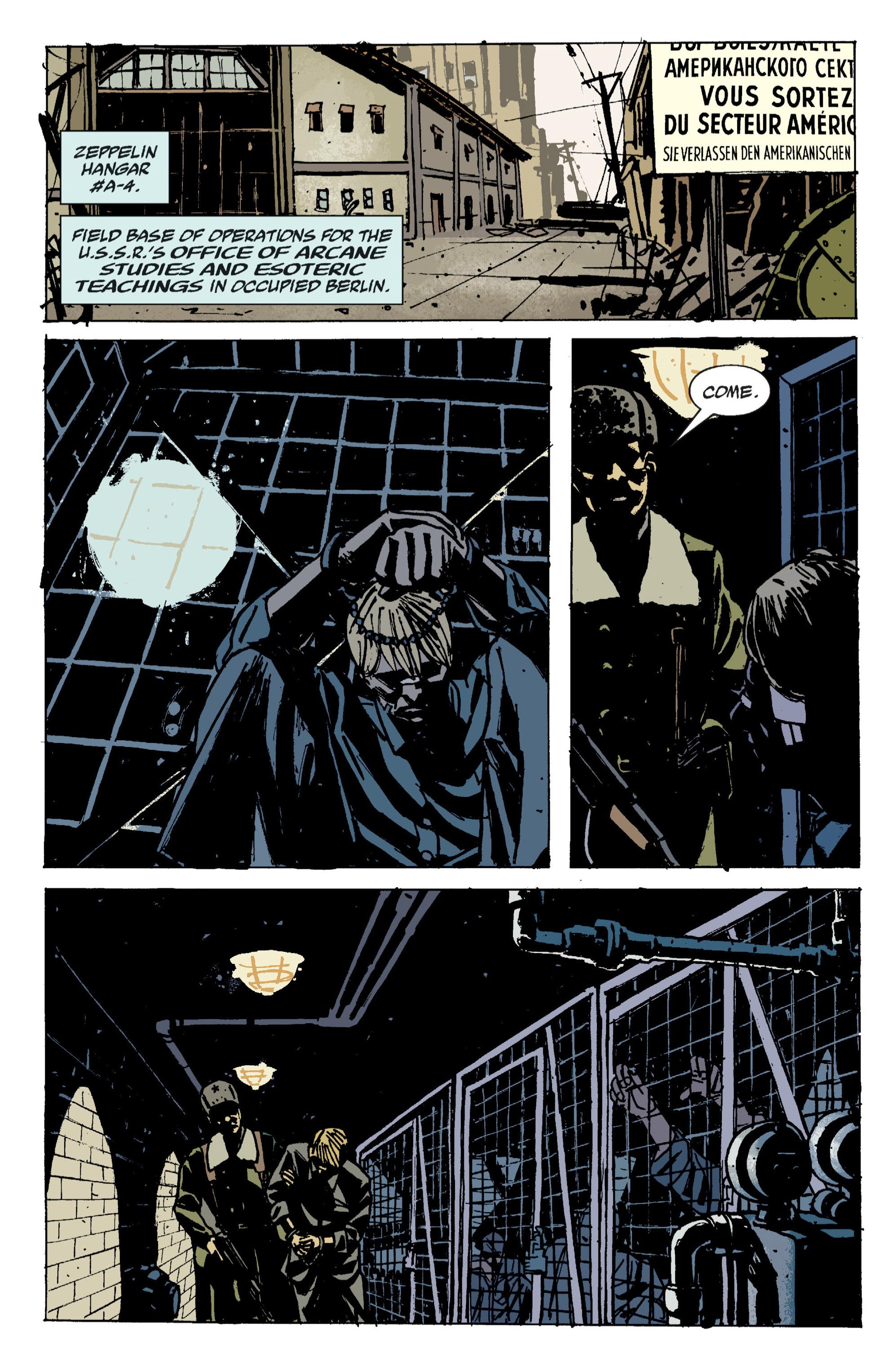 Read online B.P.R.D. (2003) comic -  Issue # TPB 9 - 86