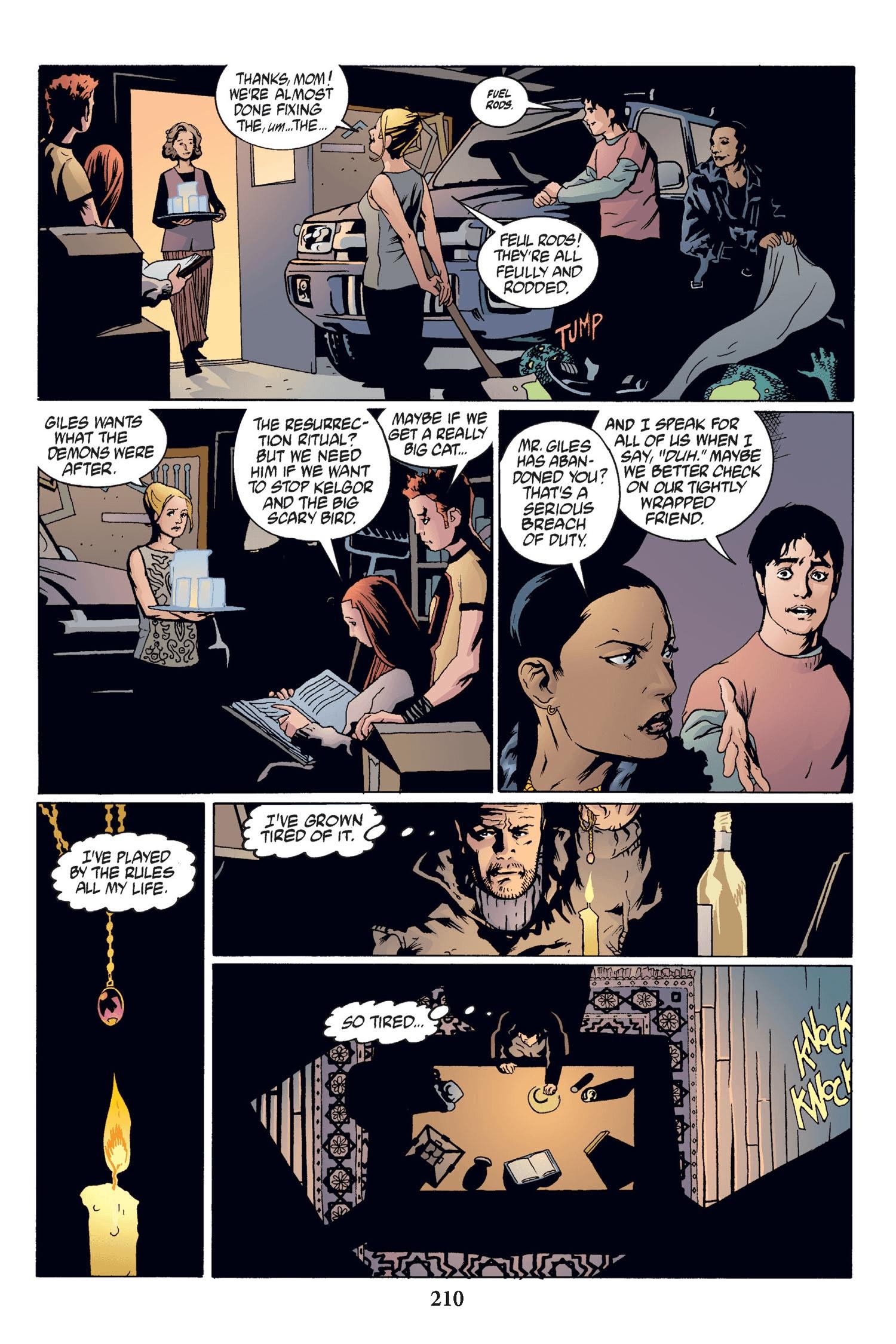 Read online Buffy the Vampire Slayer: Omnibus comic -  Issue # TPB 2 - 204