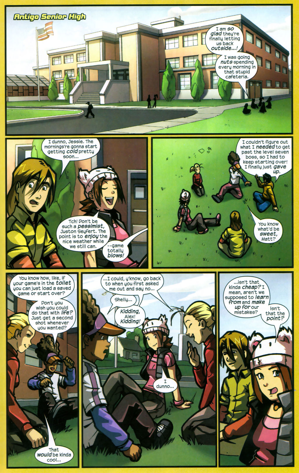 Read online Sentinel comic -  Issue #12 - 14