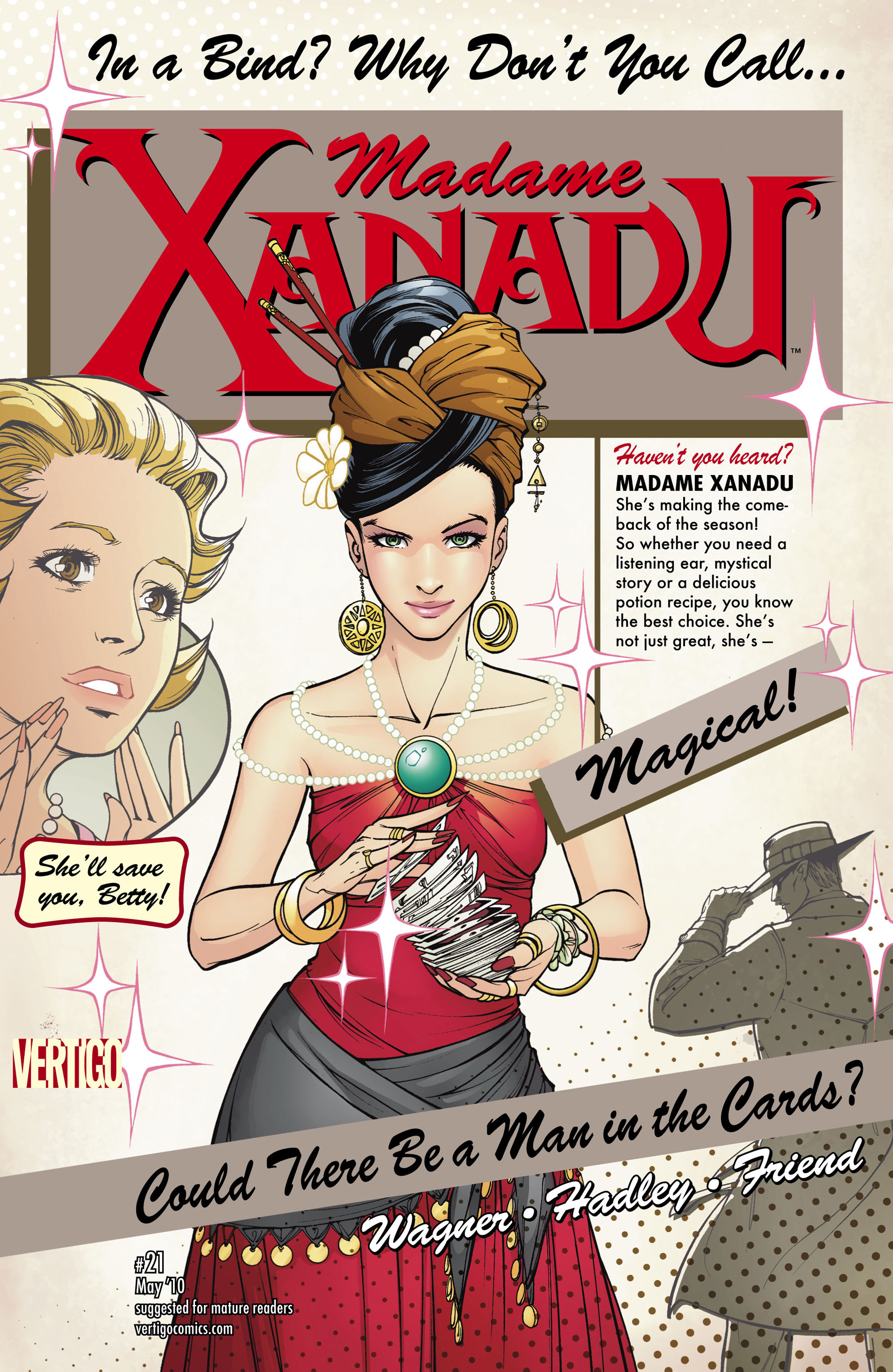 Madame Xanadu issue 21 - Page 1