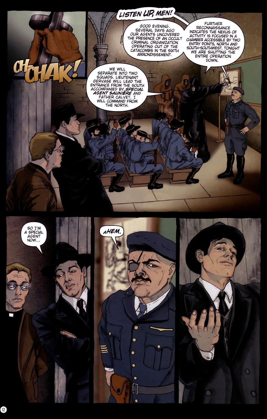 Read online Rex Mundi comic -  Issue #14 - 16