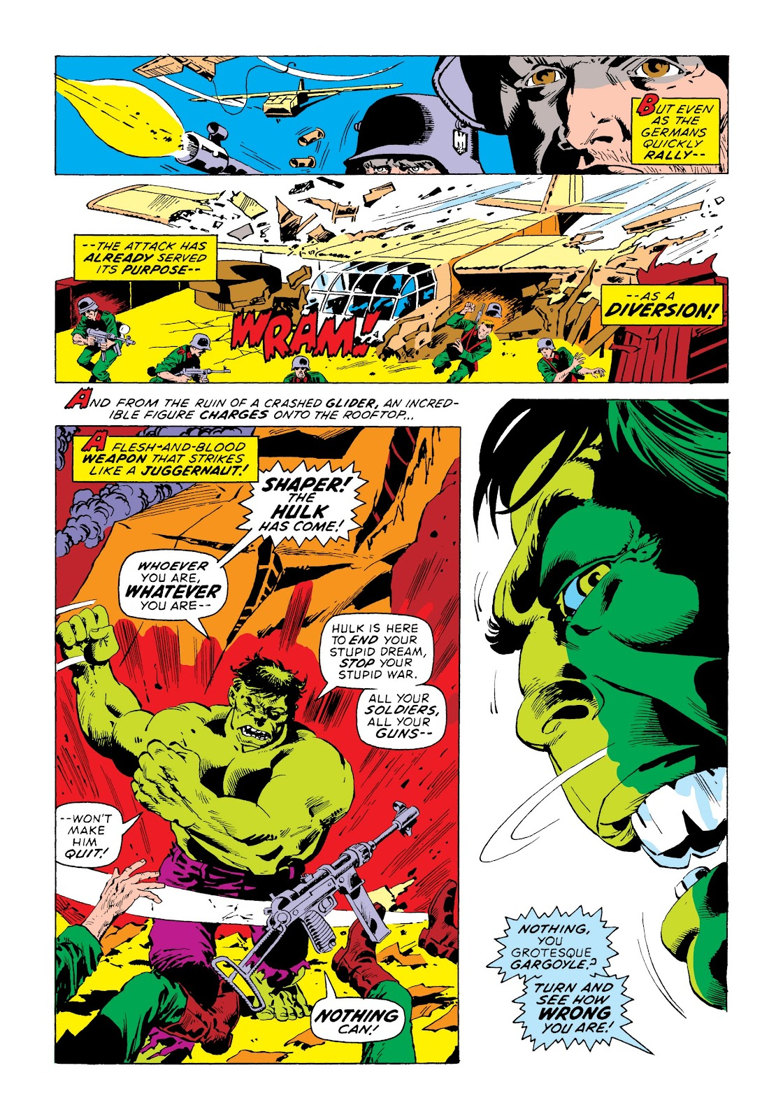 Read online Marvel Masterworks: The Incredible Hulk comic -  Issue # TPB 8 (Part 3) - 54