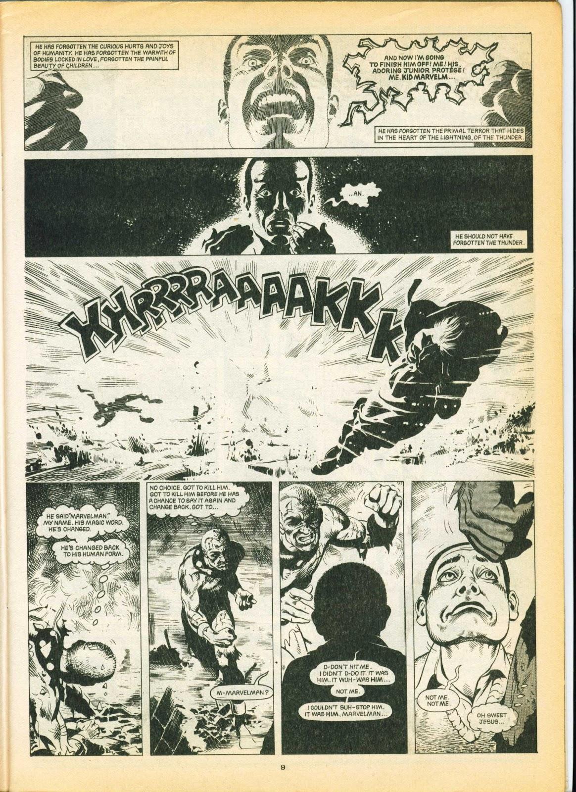 Warrior Issue #6 #7 - English 9