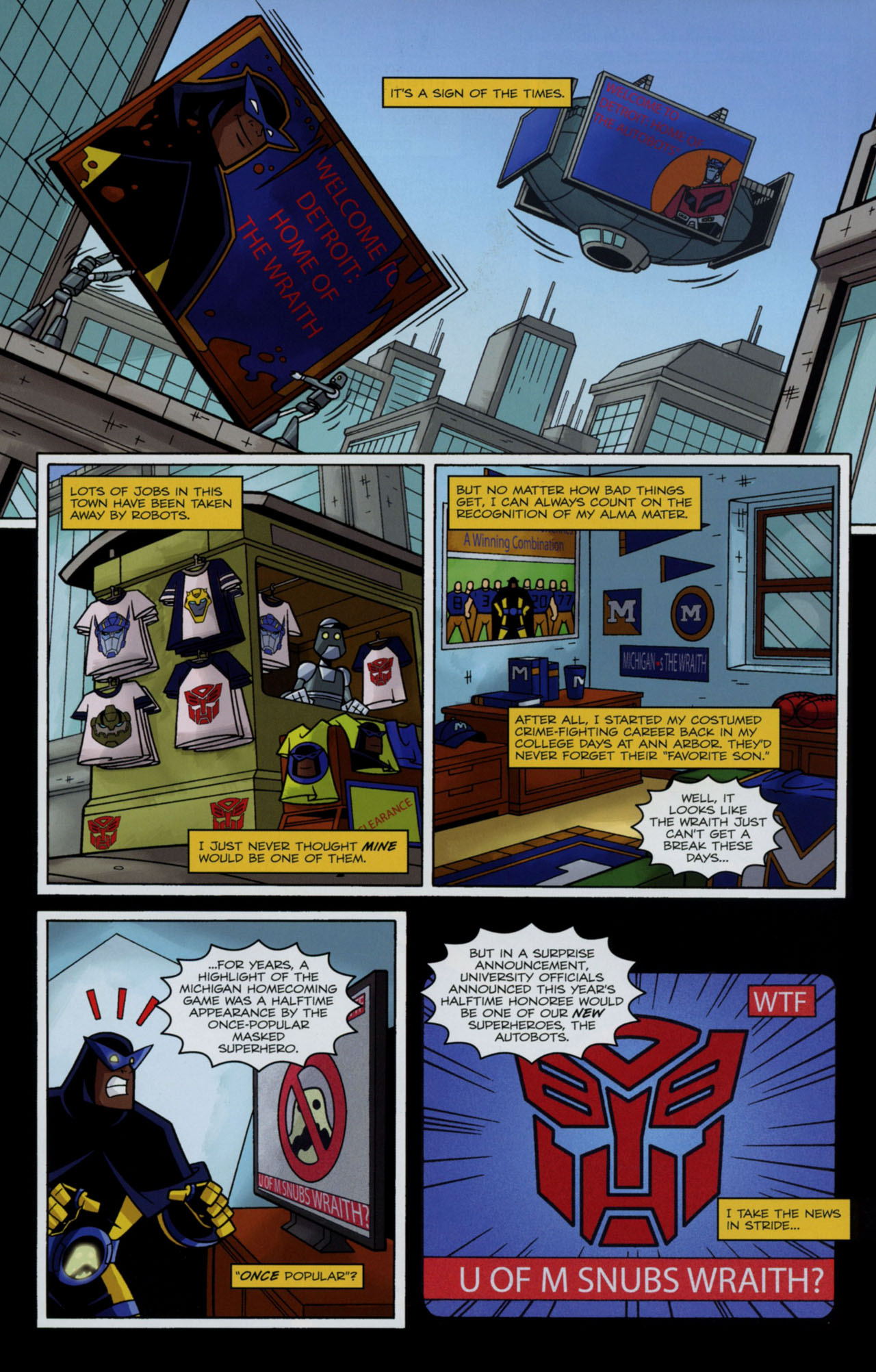 Read online Transformers Animated: The Arrival comic -  Issue #2 - 12