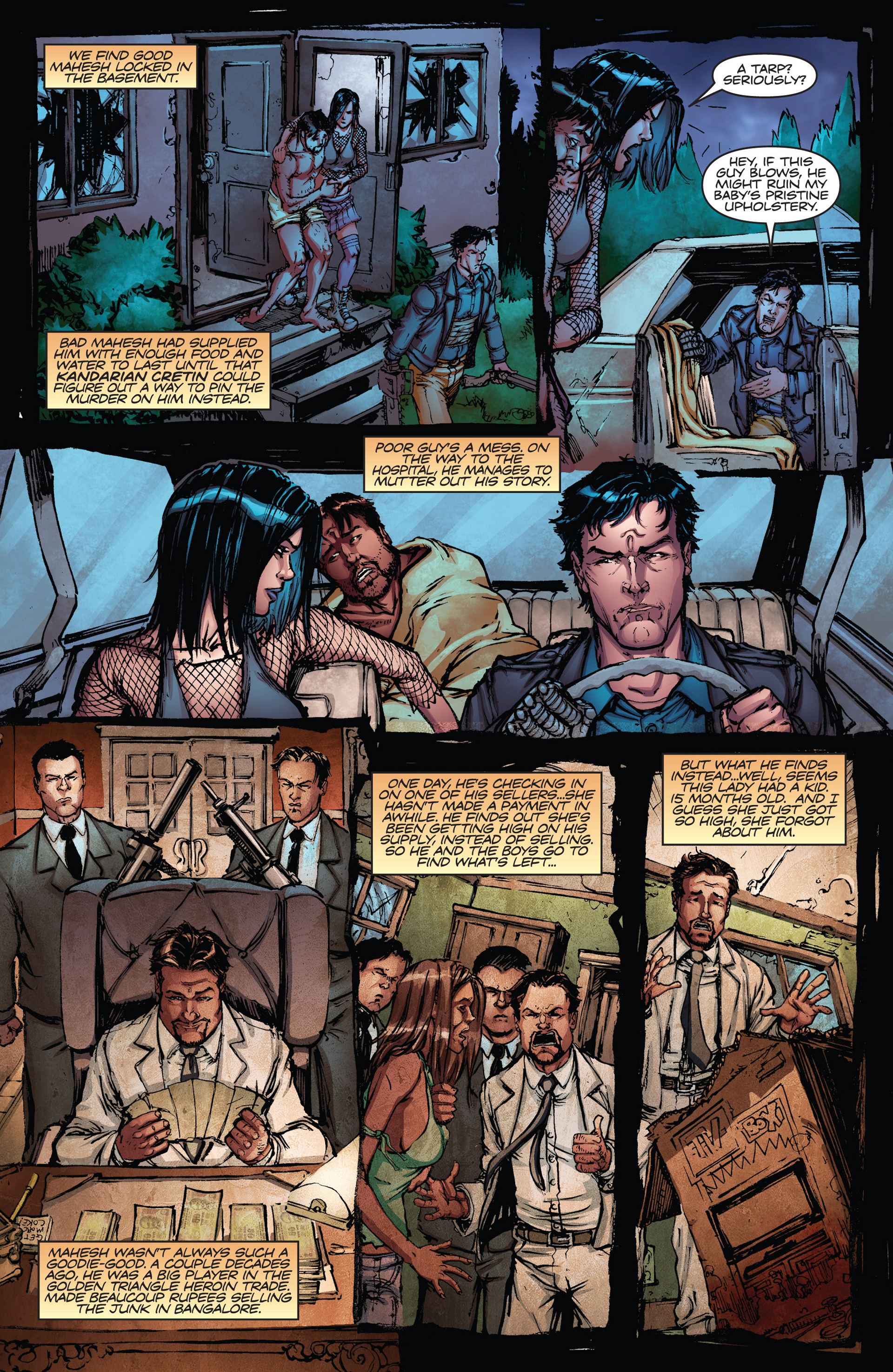 Read online Army of Darkness vs. Hack/Slash comic -  Issue #2 - 23