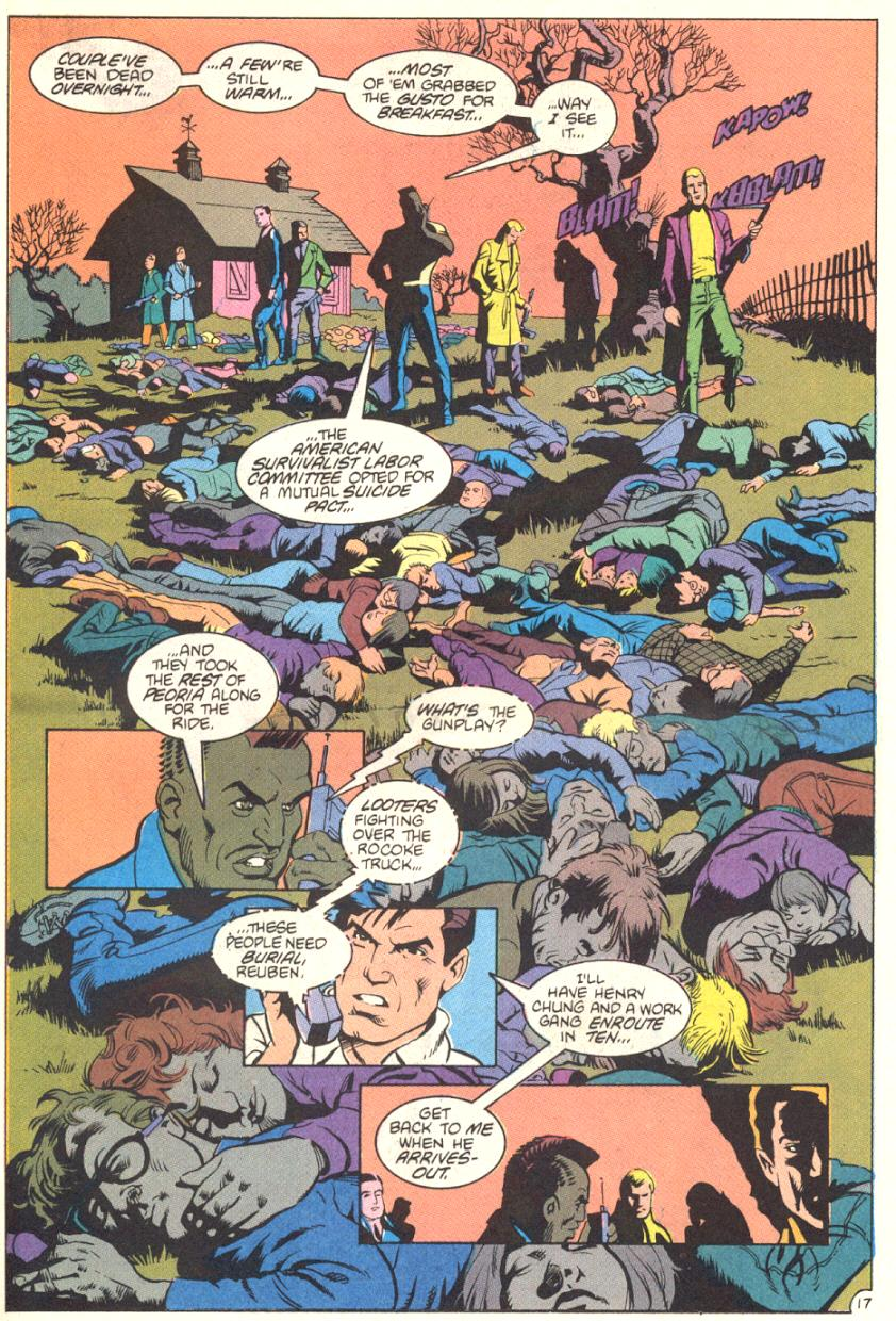 Read online American Flagg! comic -  Issue #13 - 18