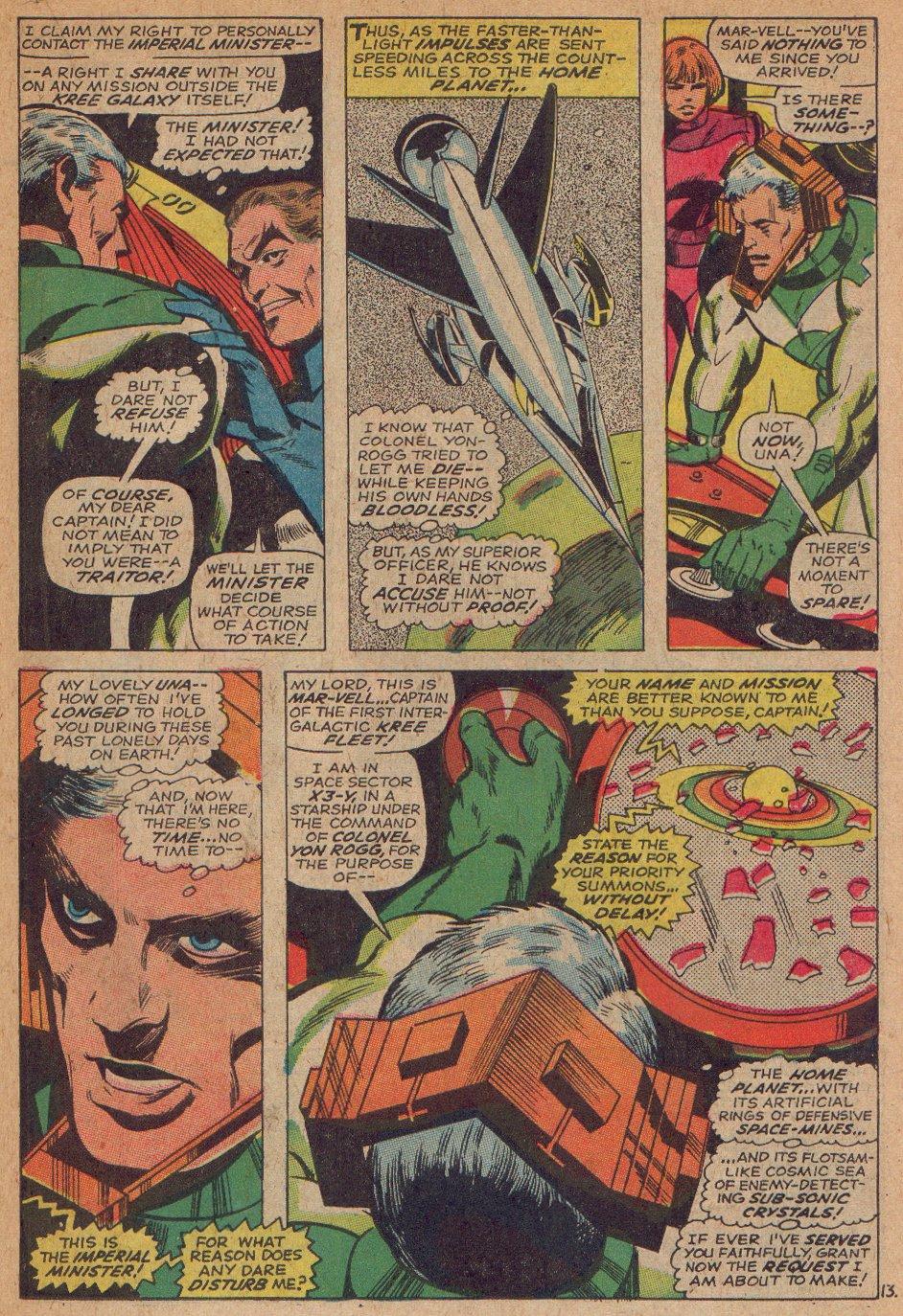 Captain Marvel (1968) Issue #3 #3 - English 14