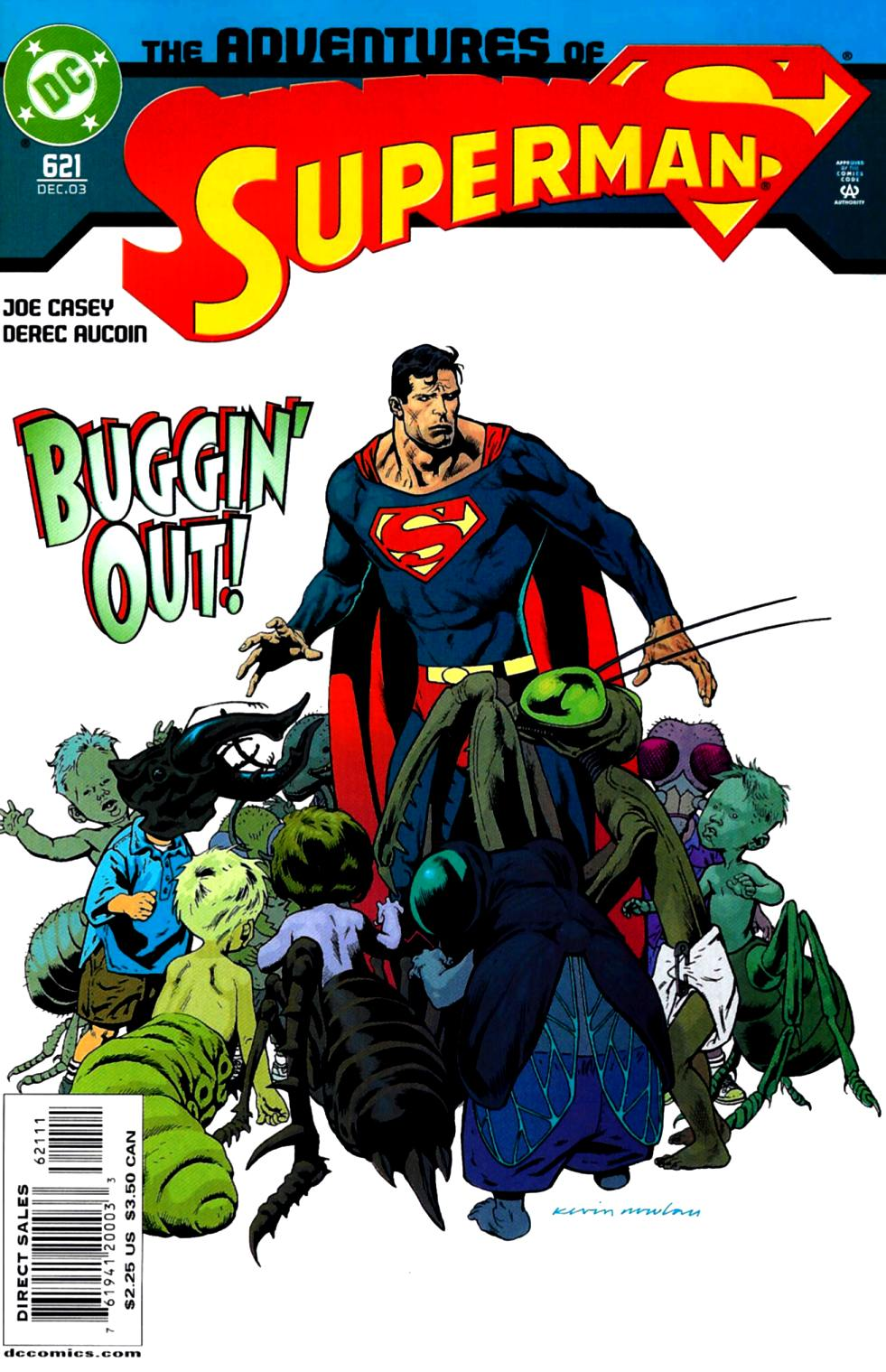 Read online Adventures of Superman (1987) comic -  Issue #621 - 1