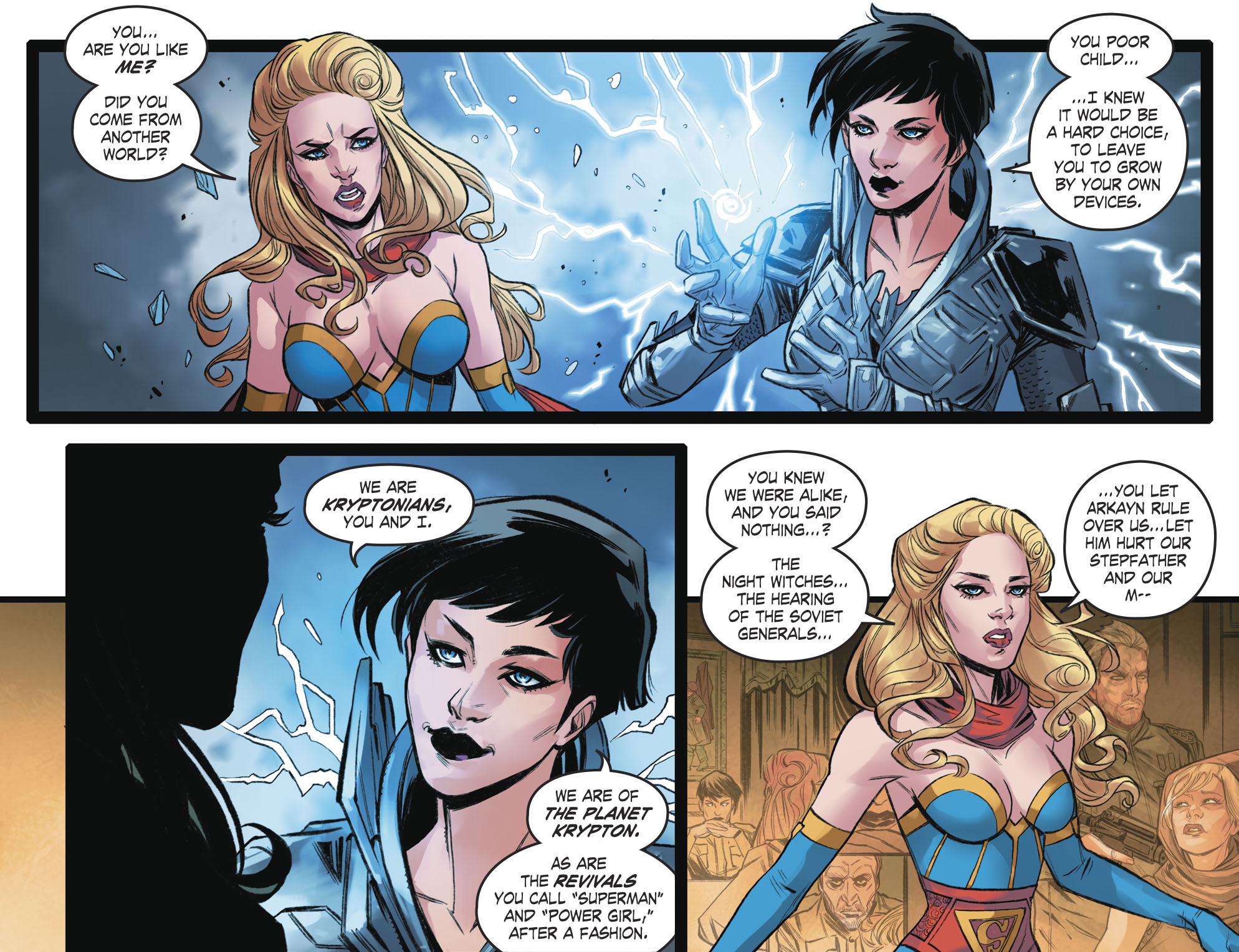 Read online DC Comics: Bombshells comic -  Issue #93 - 20