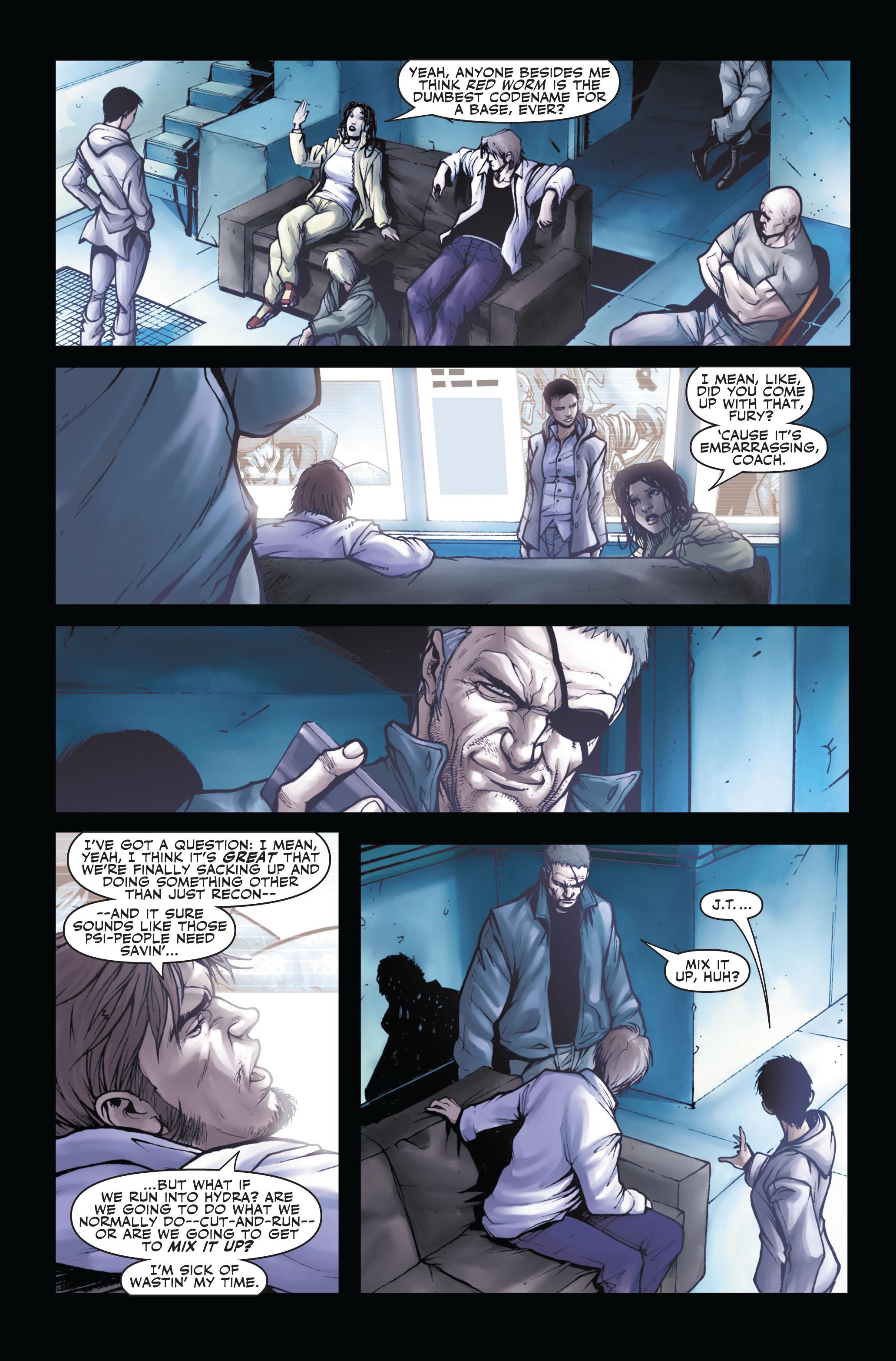 Read online Secret Warriors comic -  Issue #3 - 7