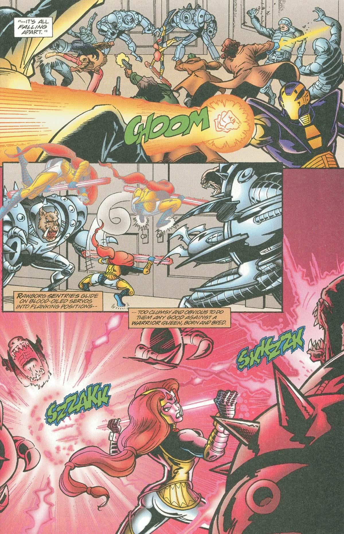 Read online UltraForce (1995) comic -  Issue #7 - 23