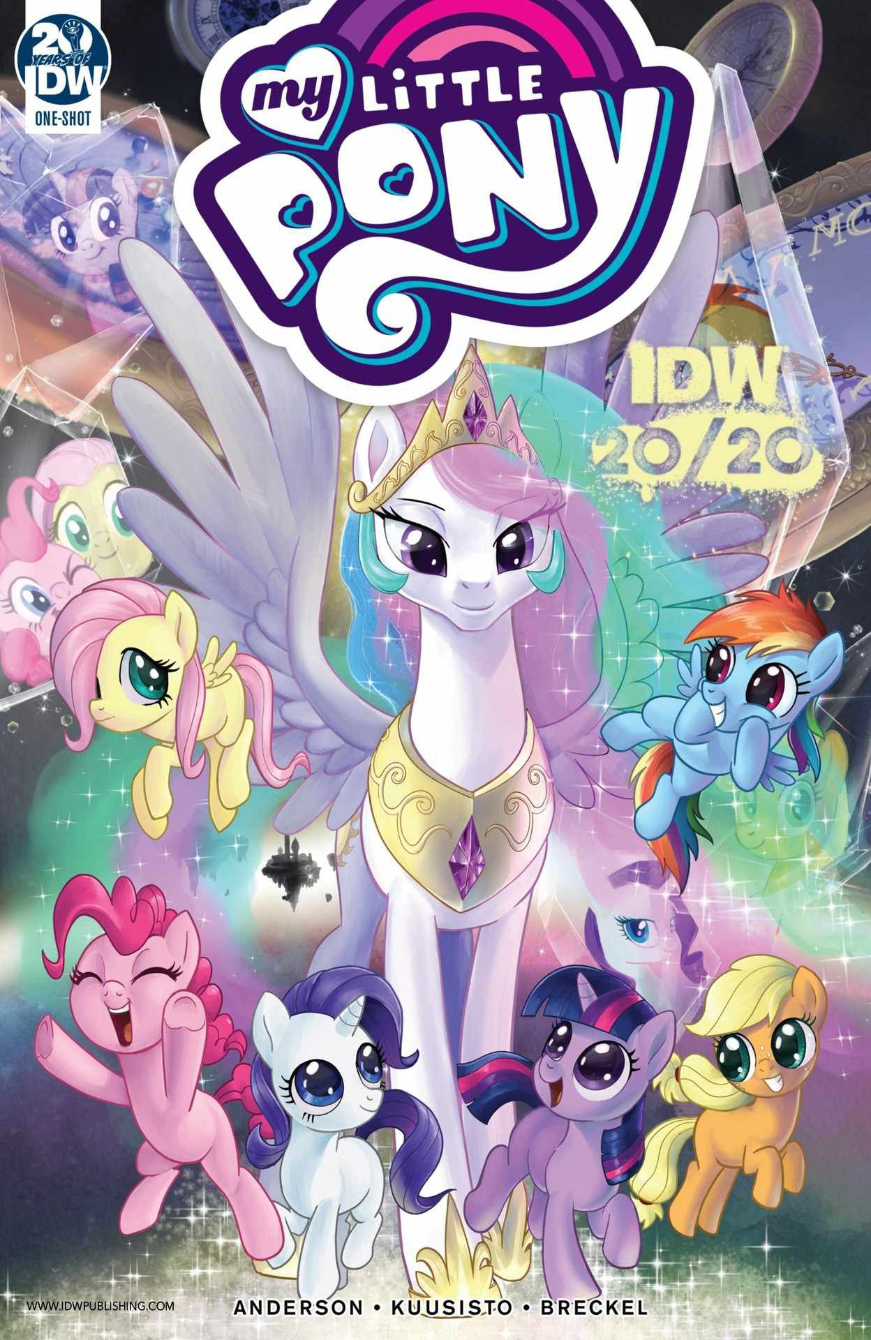 My Little Pony: Friendship is Magic 20/20 Full Page 1