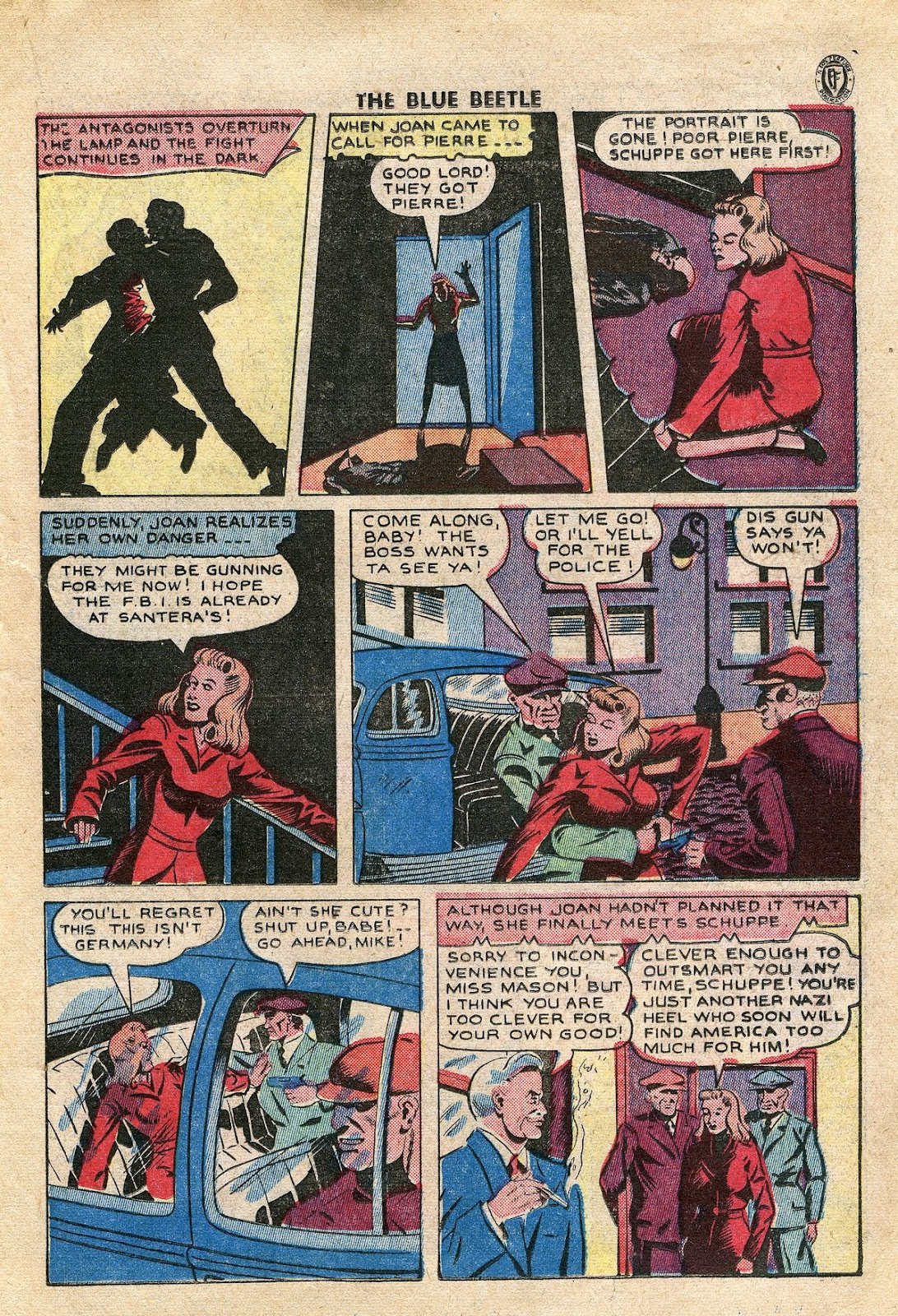 The Blue Beetle issue 34 - Page 26
