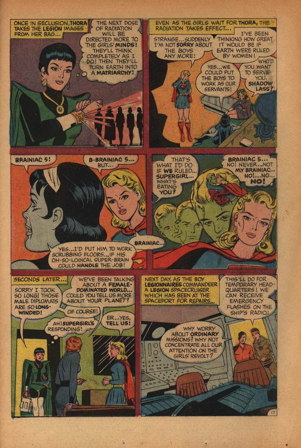 Read online Adventure Comics (1938) comic -  Issue #368 - 23