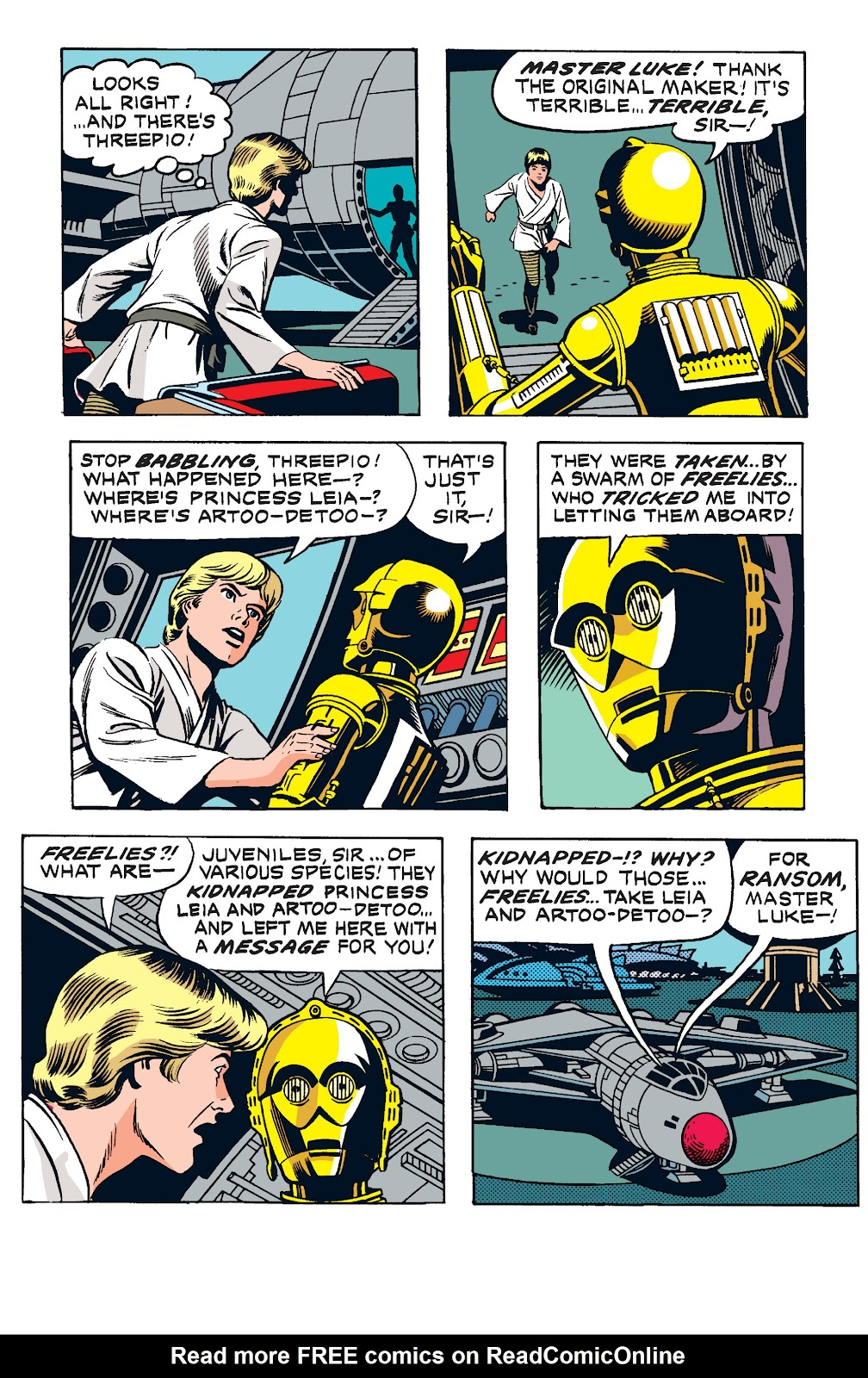 Read online Star Wars Legends: The Newspaper Strips - Epic Collection comic -  Issue # TPB (Part 2) - 6