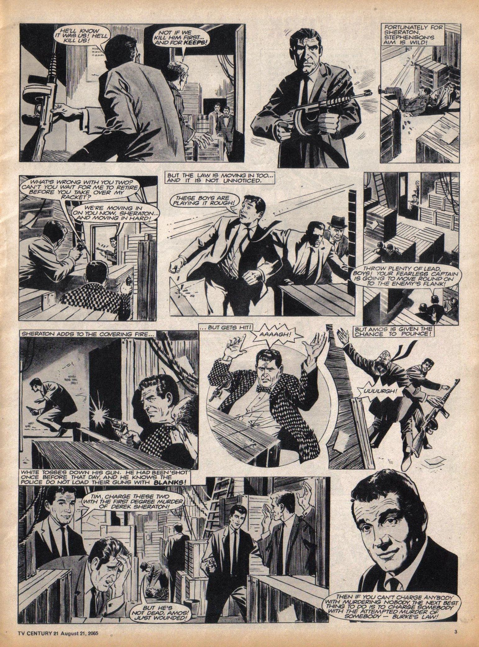 Read online TV Century 21 (TV 21) comic -  Issue #31 - 3