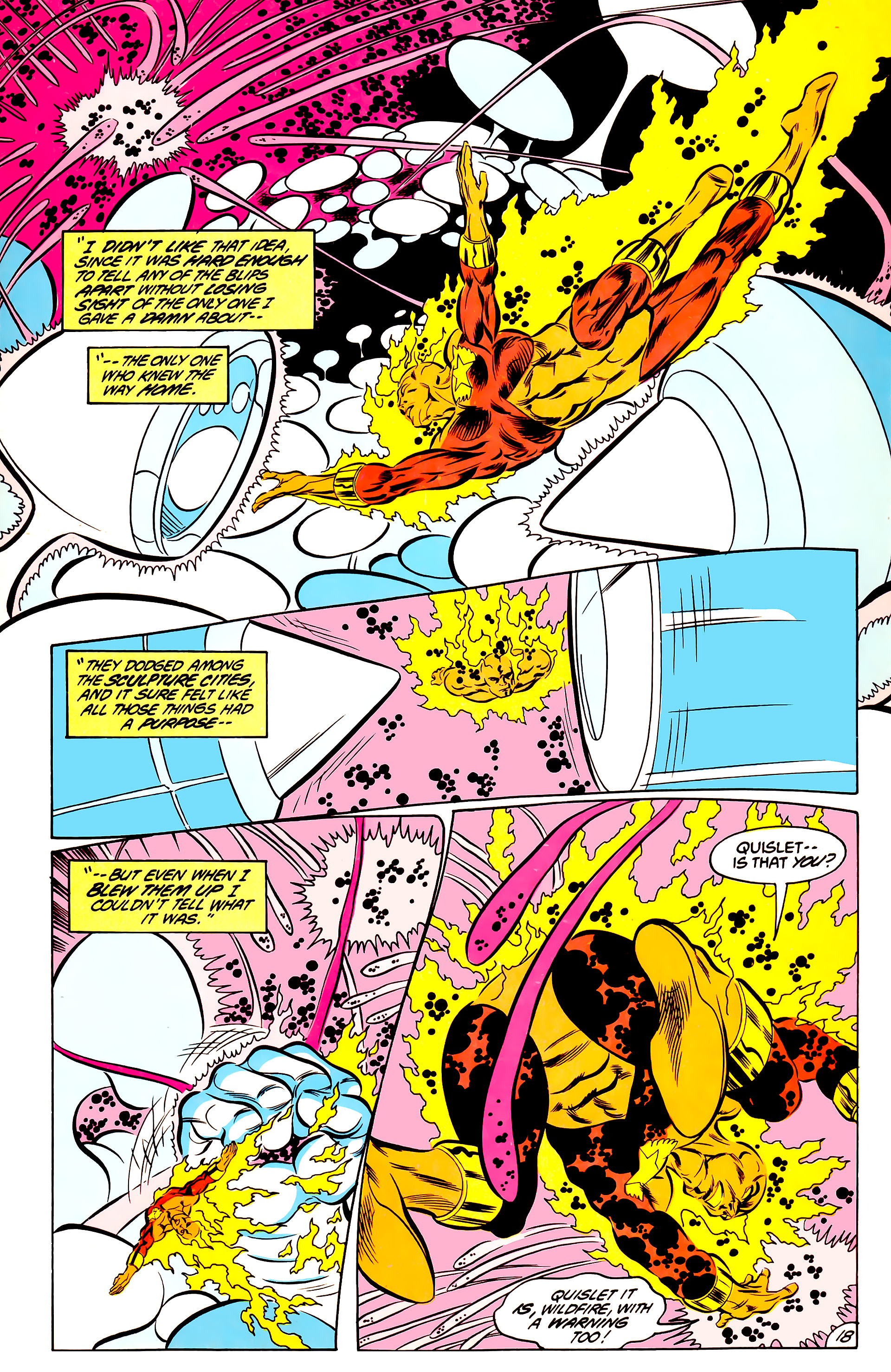 Legion of Super-Heroes (1984) 44 Page 18