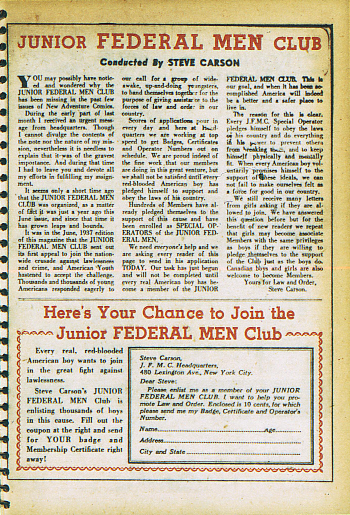 Read online Adventure Comics (1938) comic -  Issue #27 - 49