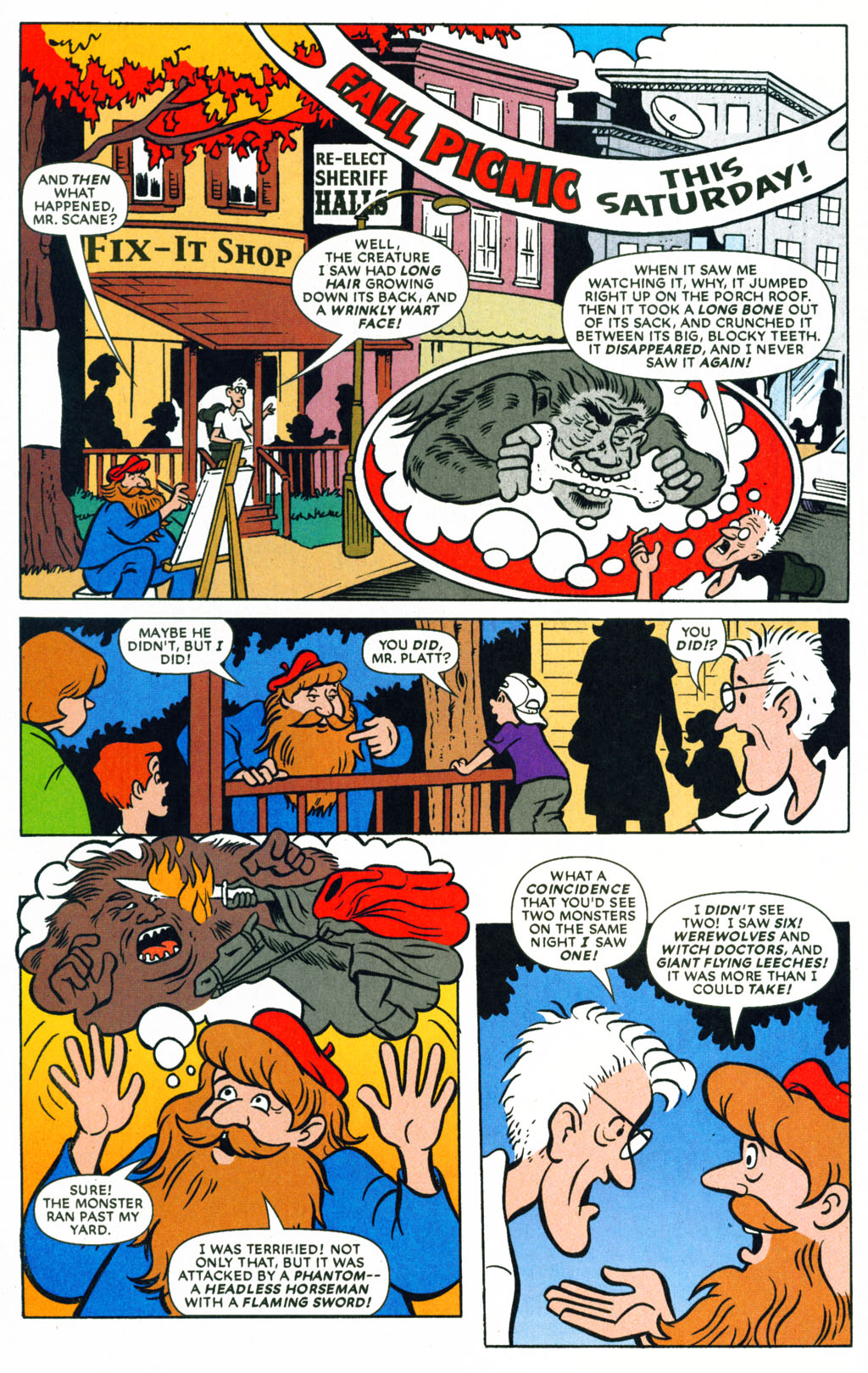 Read online Scooby-Doo (1997) comic -  Issue #71 - 14