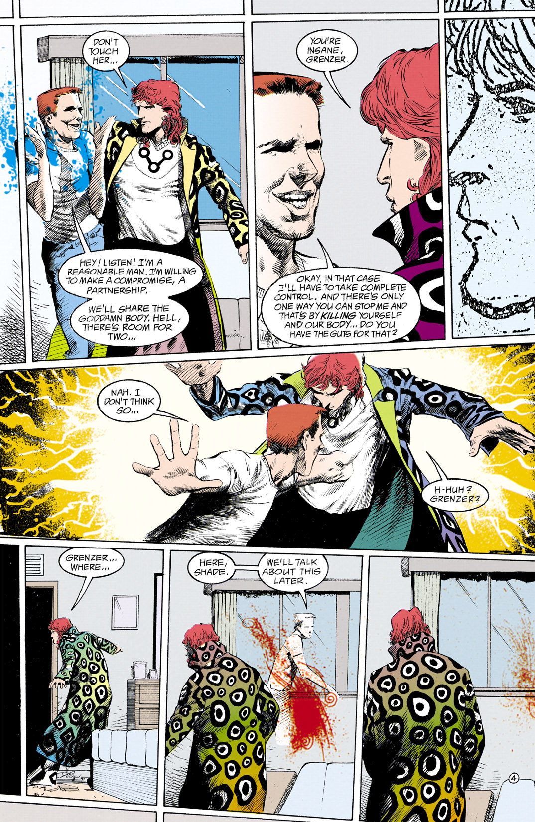 Read online Shade, the Changing Man comic -  Issue #12 - 5
