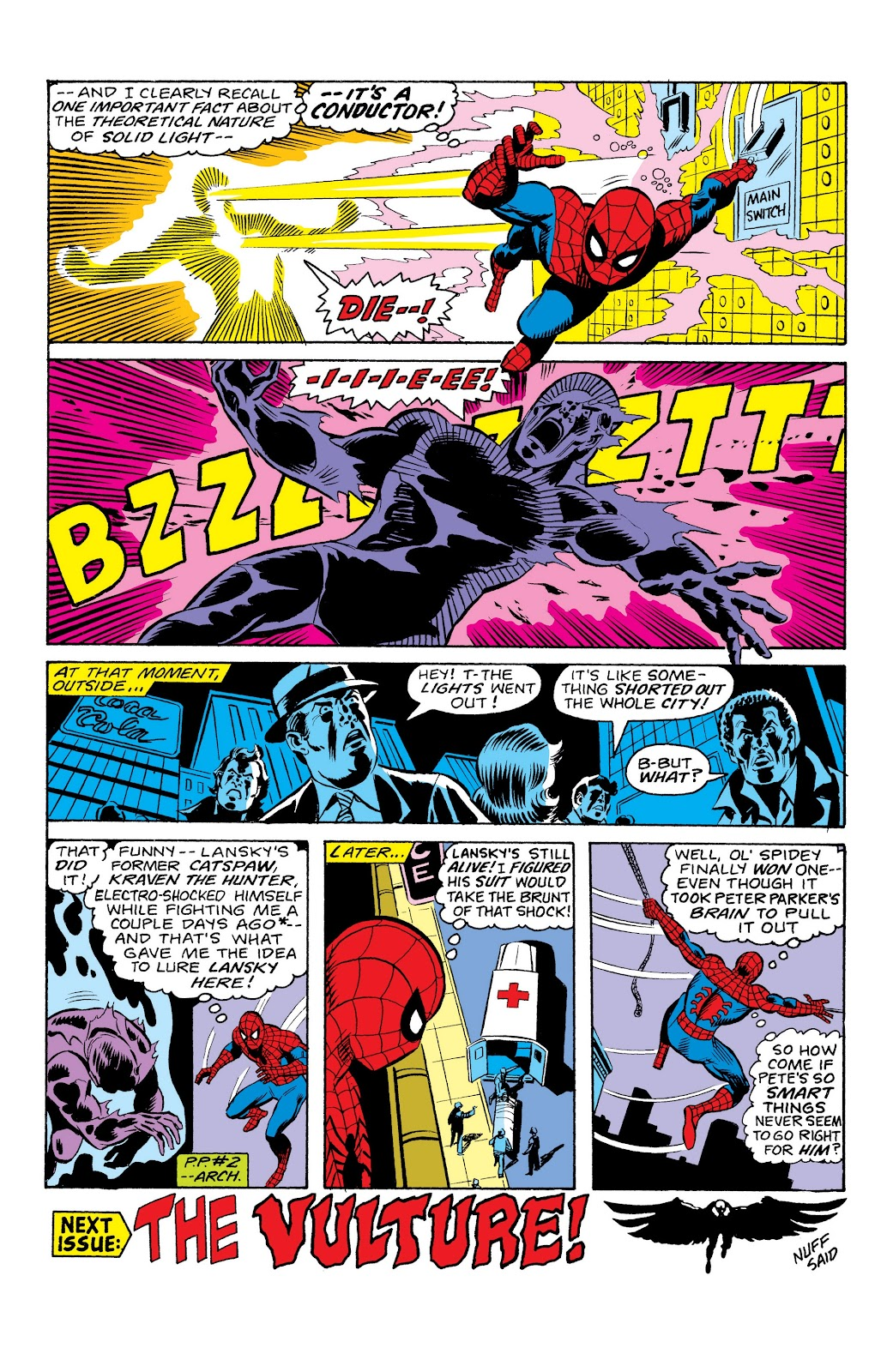 Read online Marvel Masterworks: The Spectacular Spider-Man comic -  Issue # TPB (Part 1) - 61