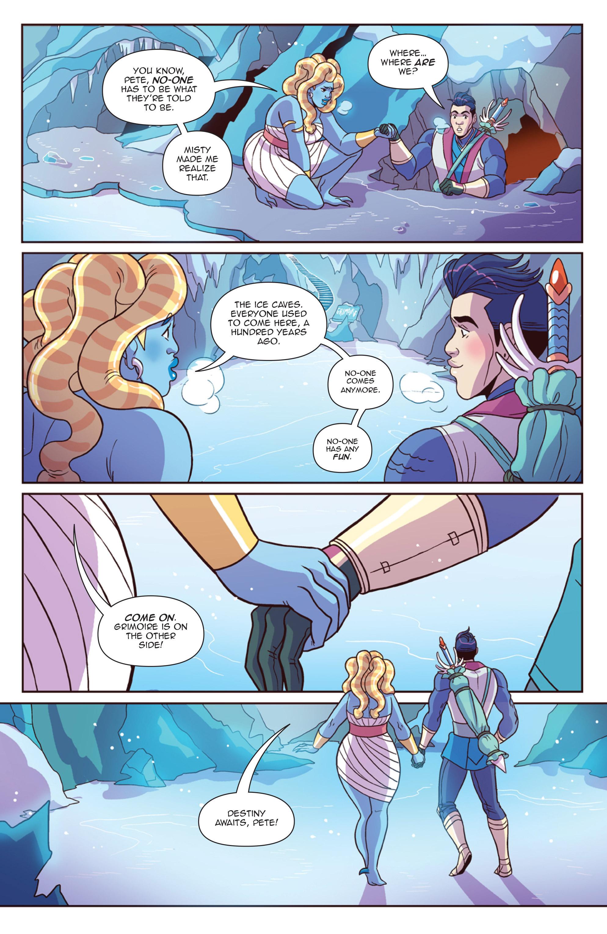 Read online Another Castle comic -  Issue #4 - 17