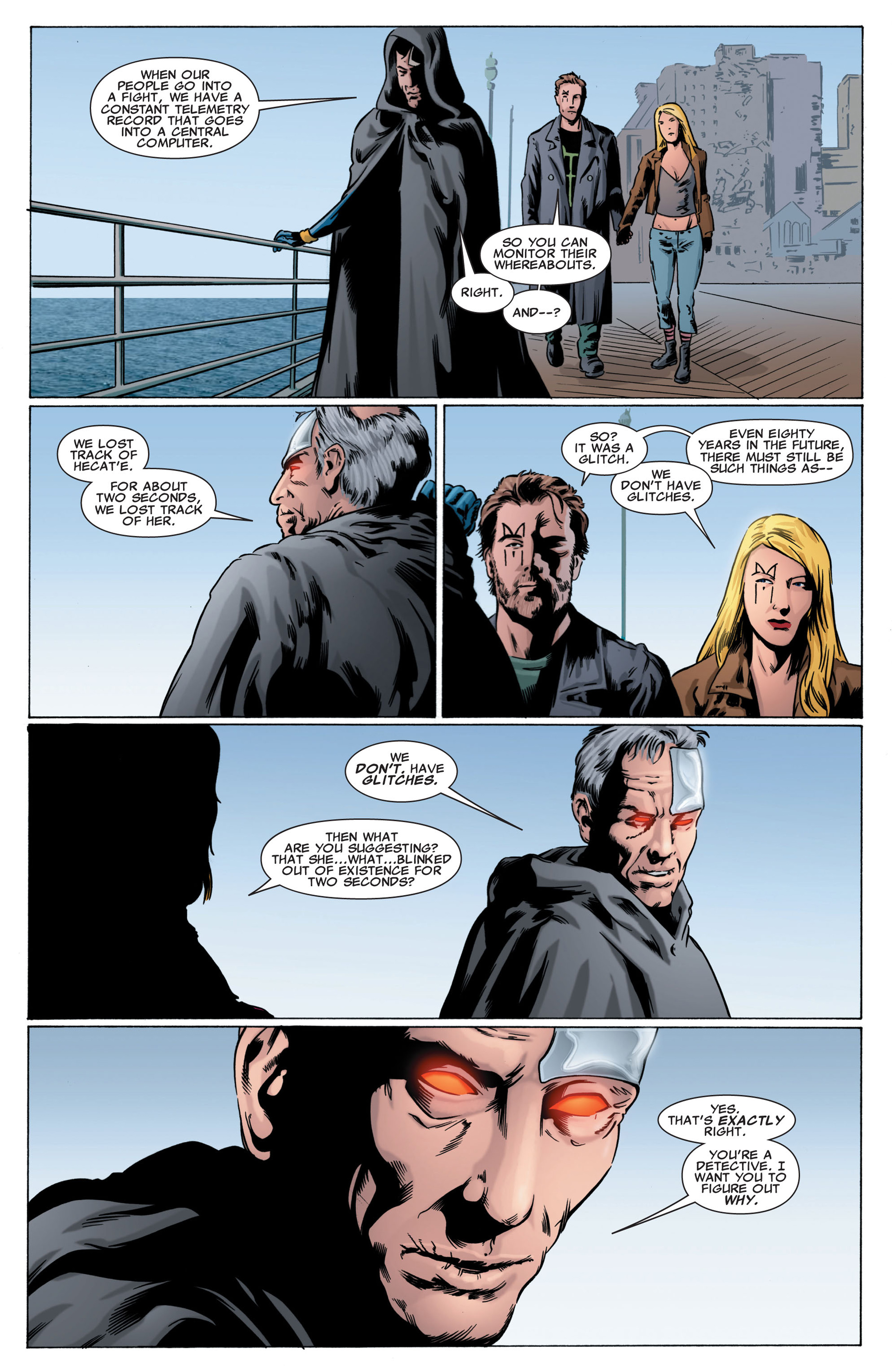 Read online X-Factor (2006) comic -  Issue #43 - 21